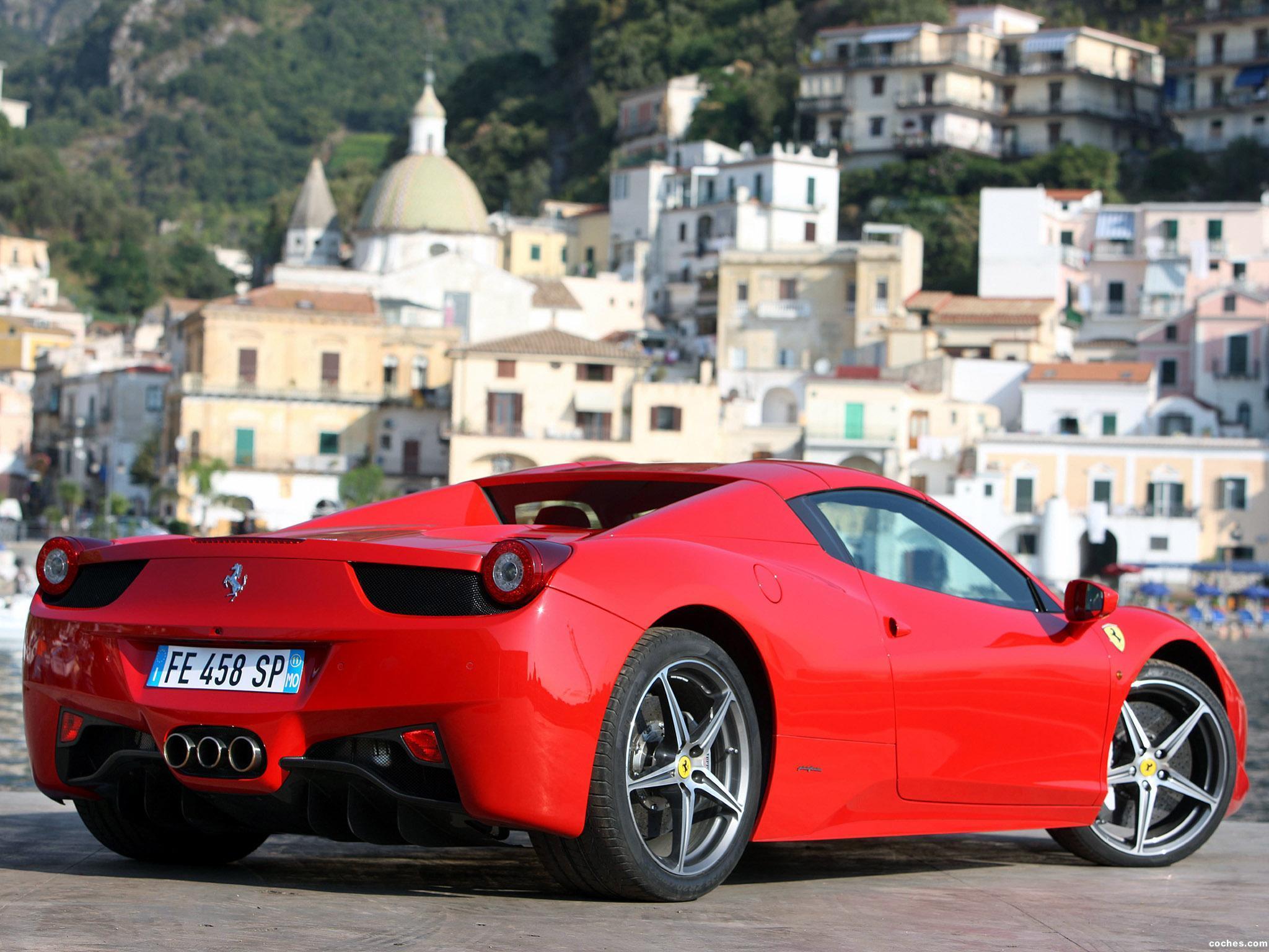 Foto 17 de Ferrari 458 Spider 2011
