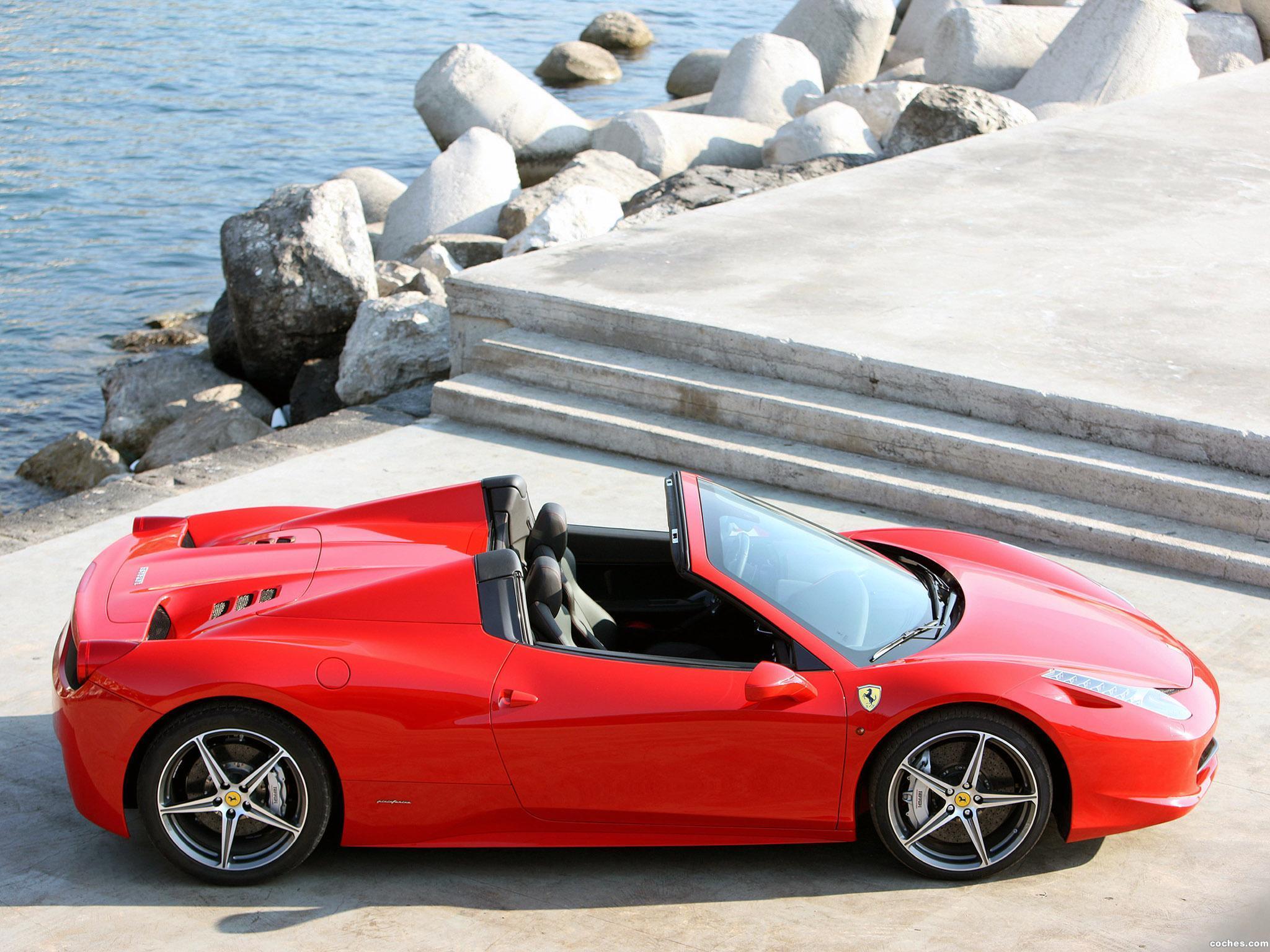 Foto 15 de Ferrari 458 Spider 2011