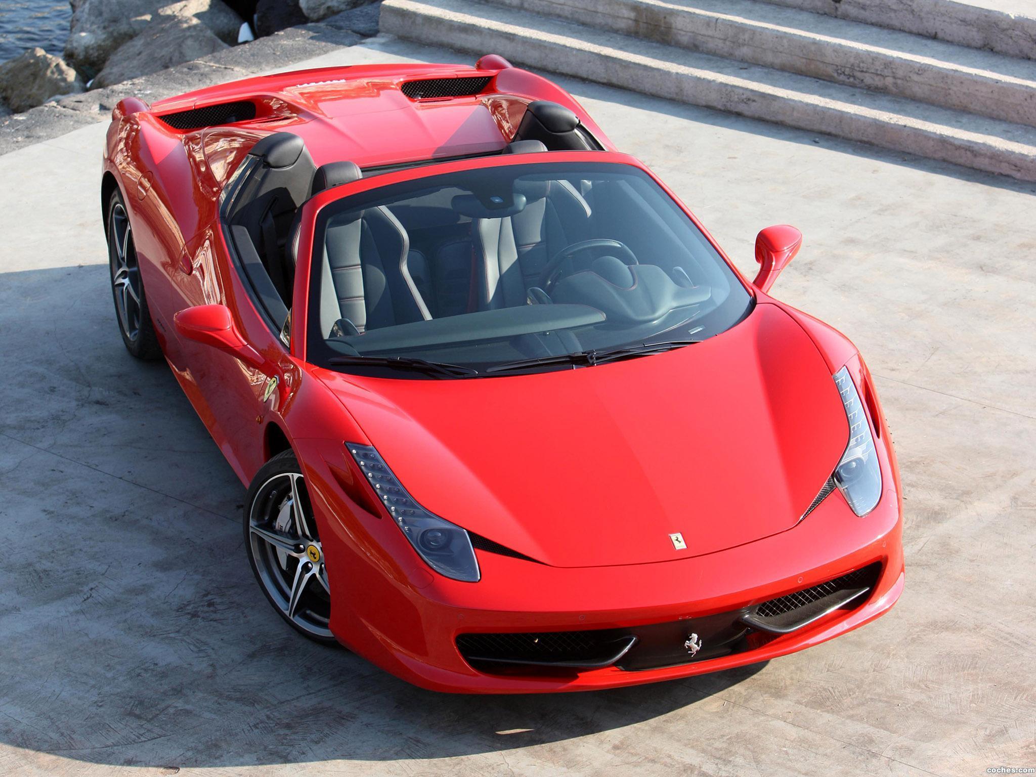 Foto 14 de Ferrari 458 Spider 2011