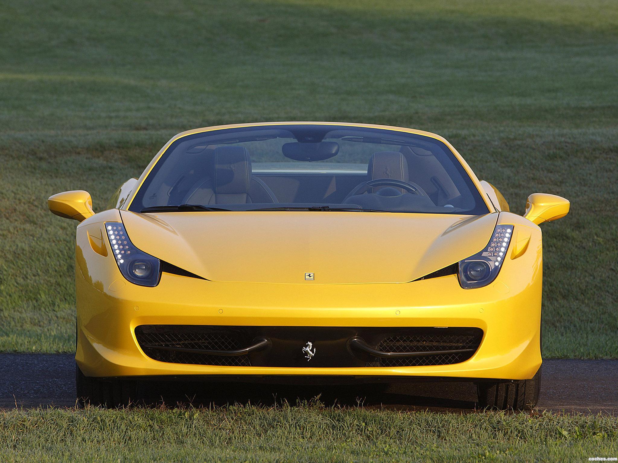 Foto 12 de Ferrari 458 Spider 2011
