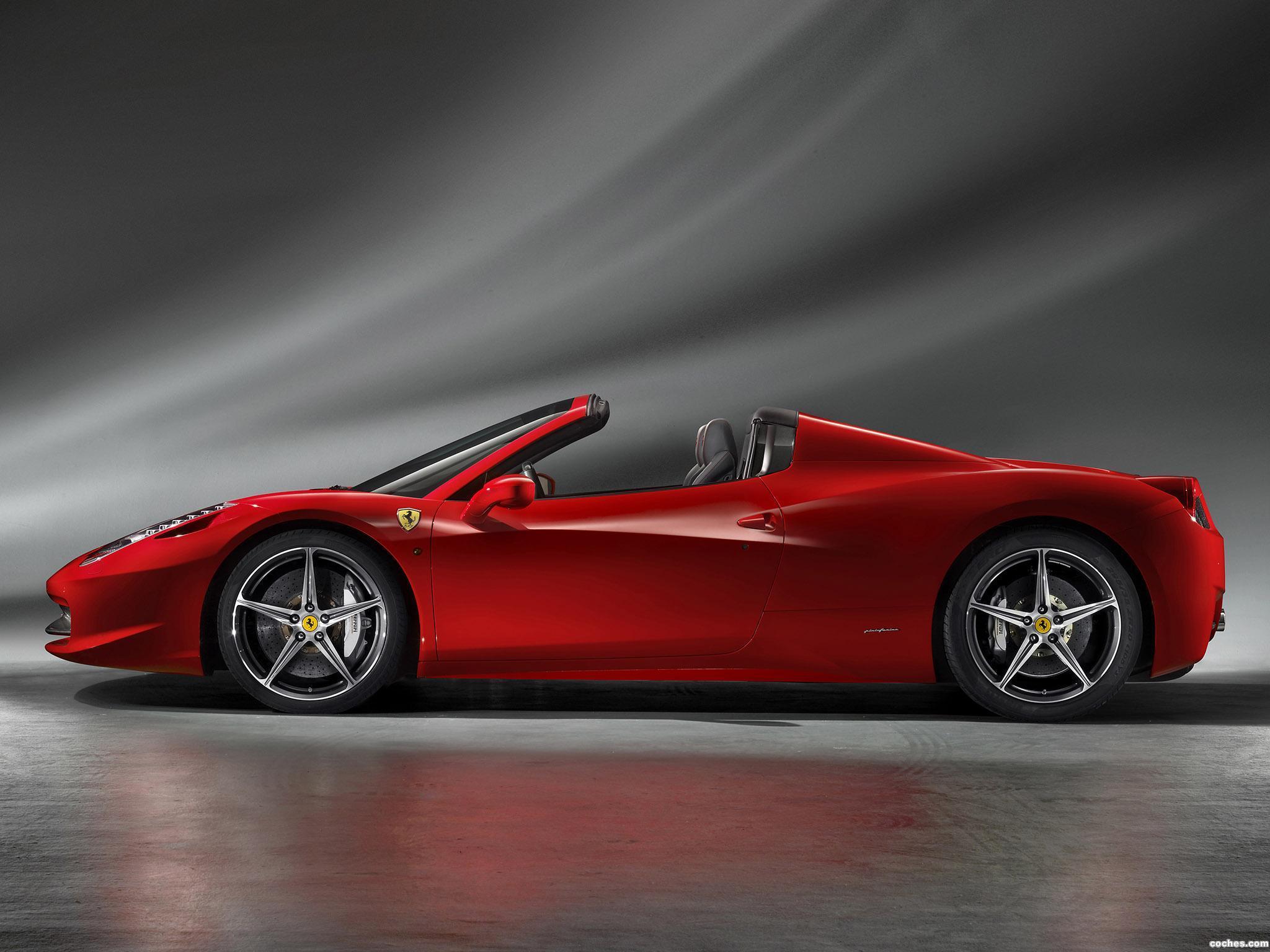 Foto 1 de Ferrari 458 Spider 2011