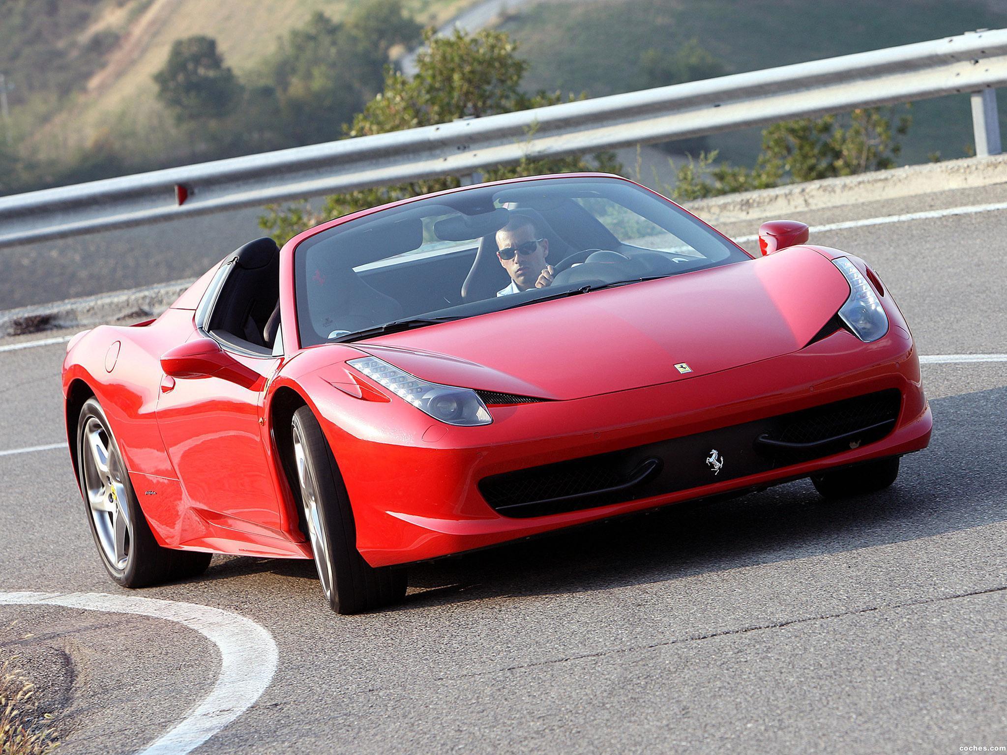 Foto 9 de Ferrari 458 Spider 2011