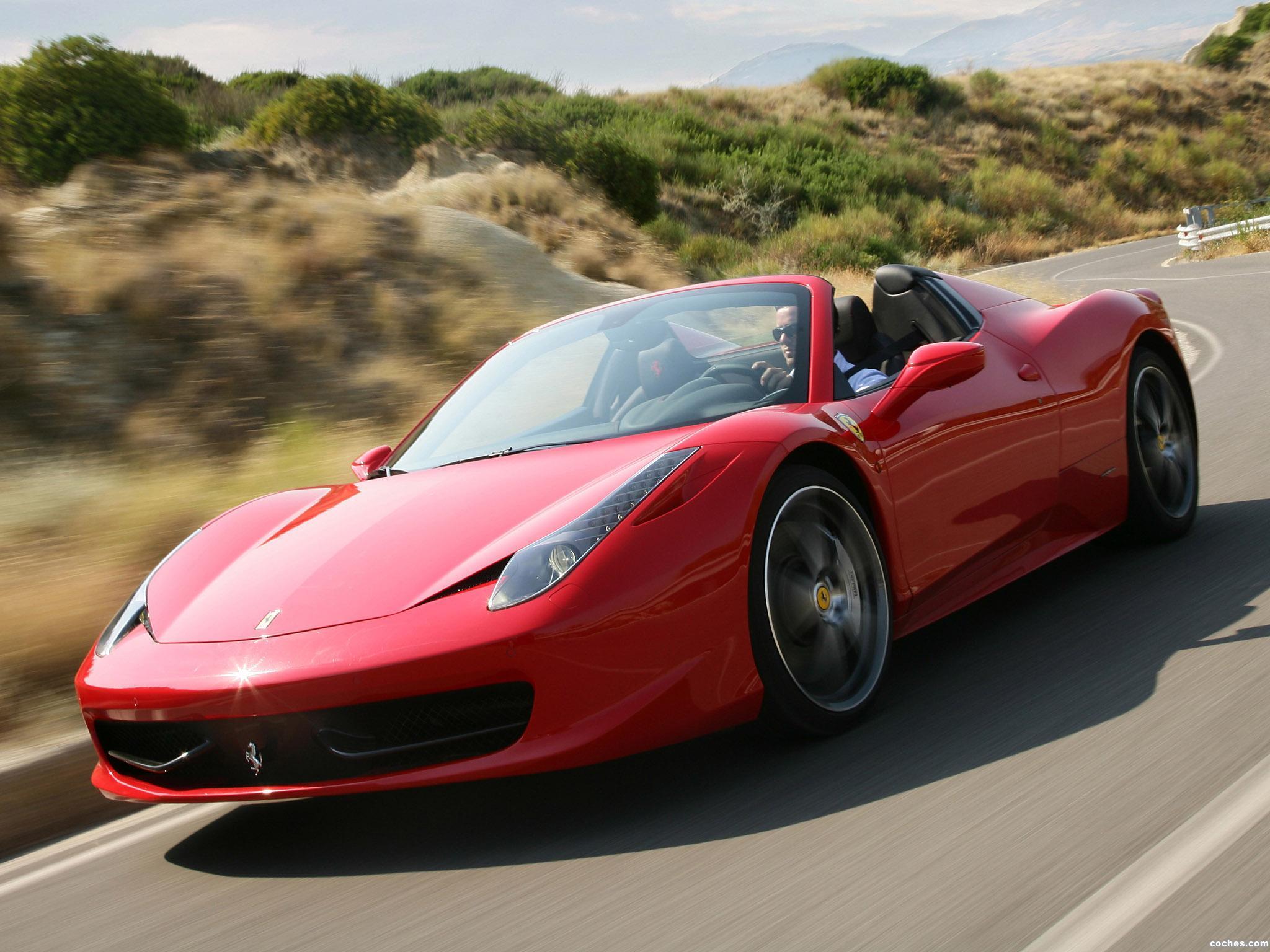 Foto 4 de Ferrari 458 Spider 2011