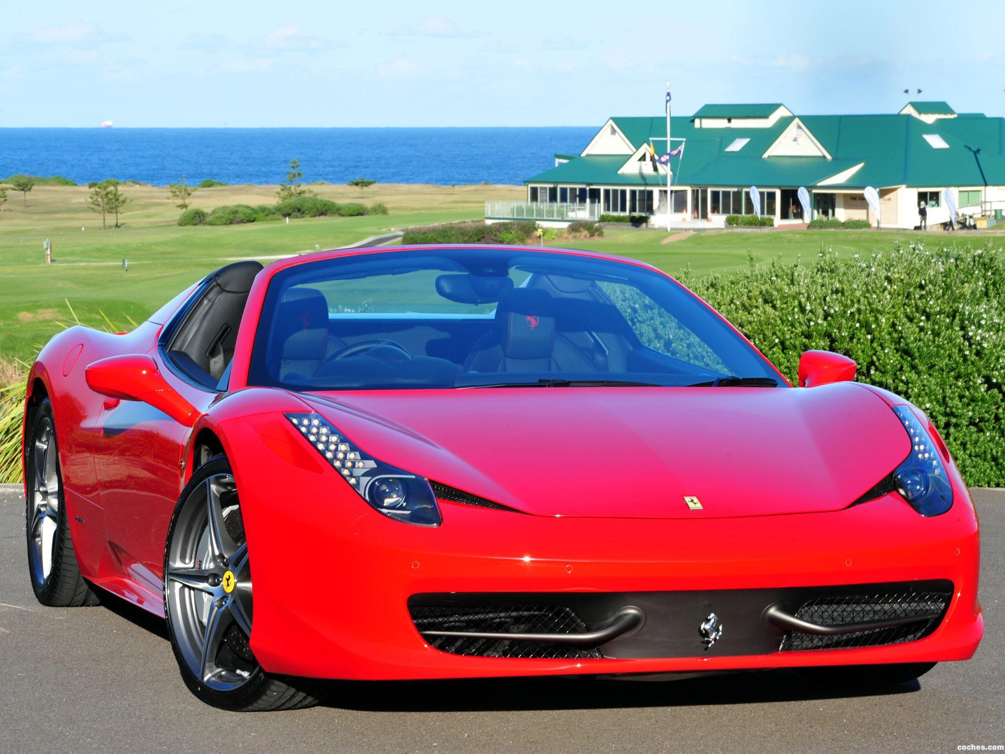 Foto 37 de Ferrari 458 Spider 2011