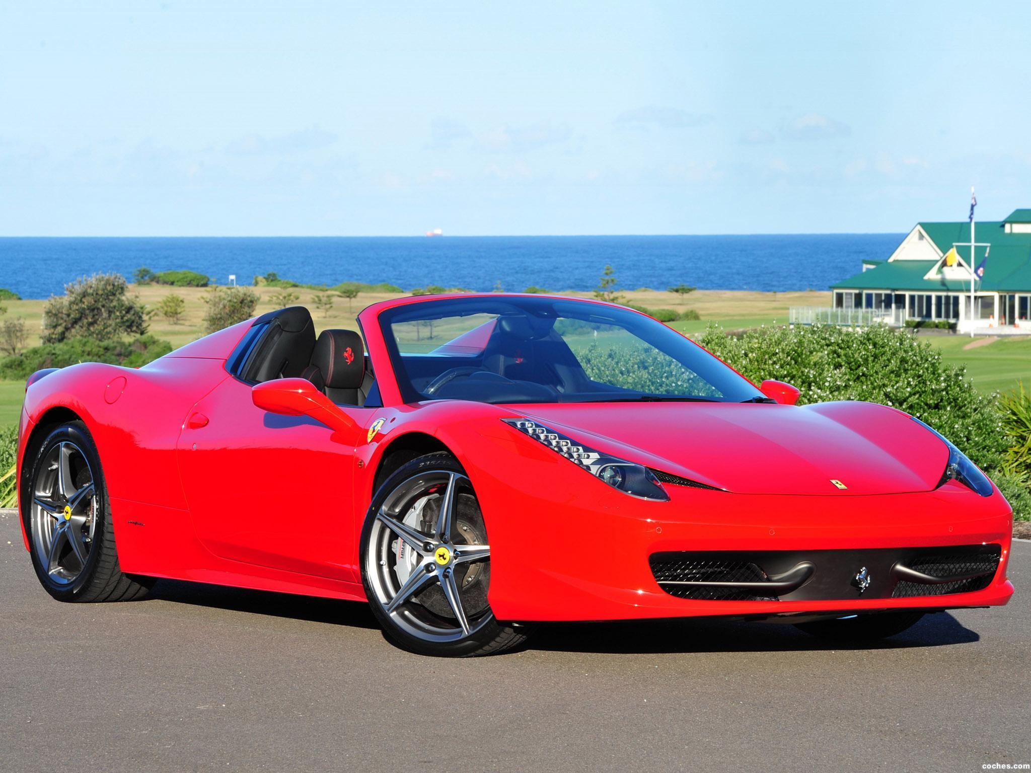 Foto 36 de Ferrari 458 Spider 2011