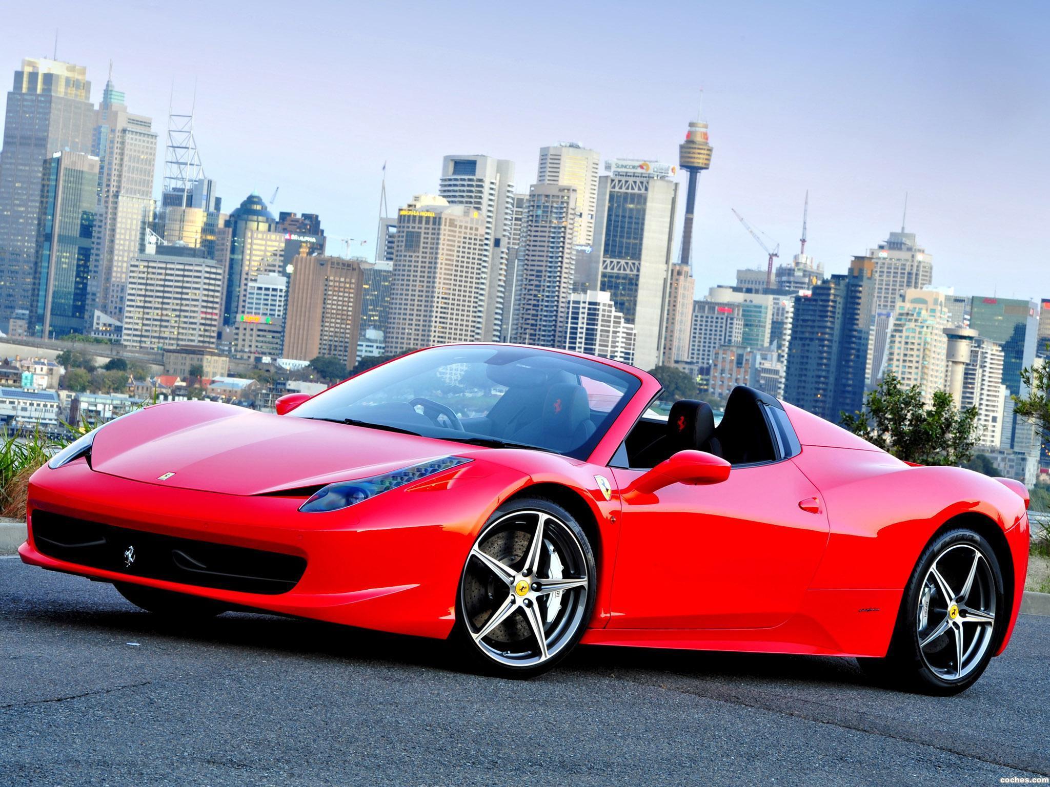 Foto 33 de Ferrari 458 Spider 2011