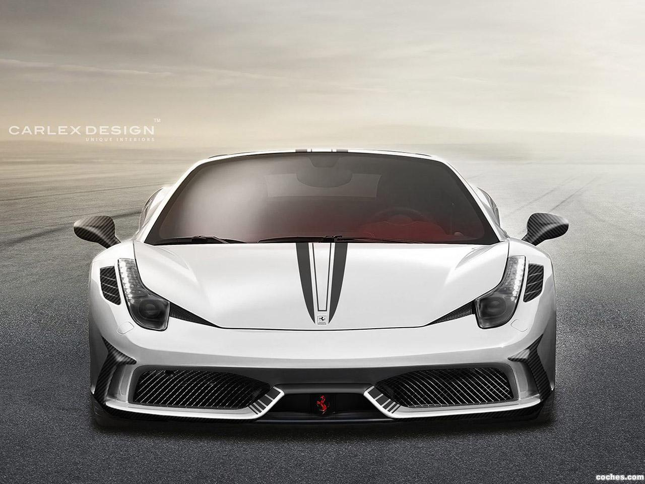 Foto 0 de Ferrari 458 Spider Concept by Carlex Design 2015