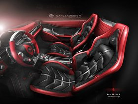 Ver foto 4 de Ferrari 458 Spider Concept by Carlex Design 2015