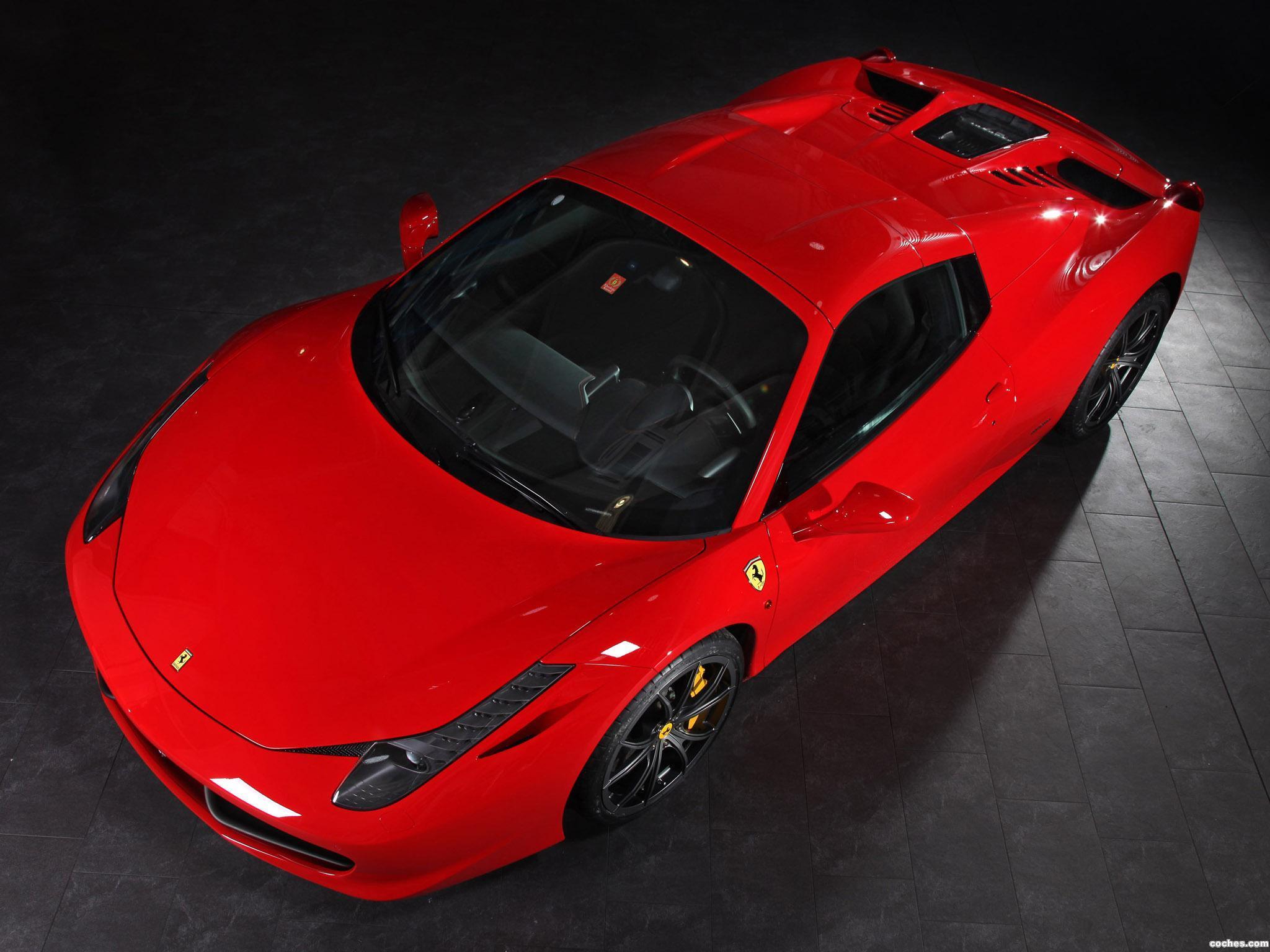Foto 1 de Ferrari 458 Spider by Capristo 2013