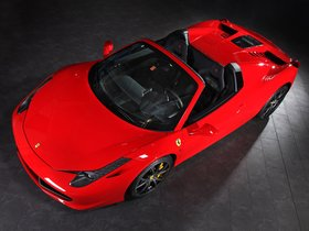 Ver foto 1 de Ferrari 458 Spider by Capristo 2013