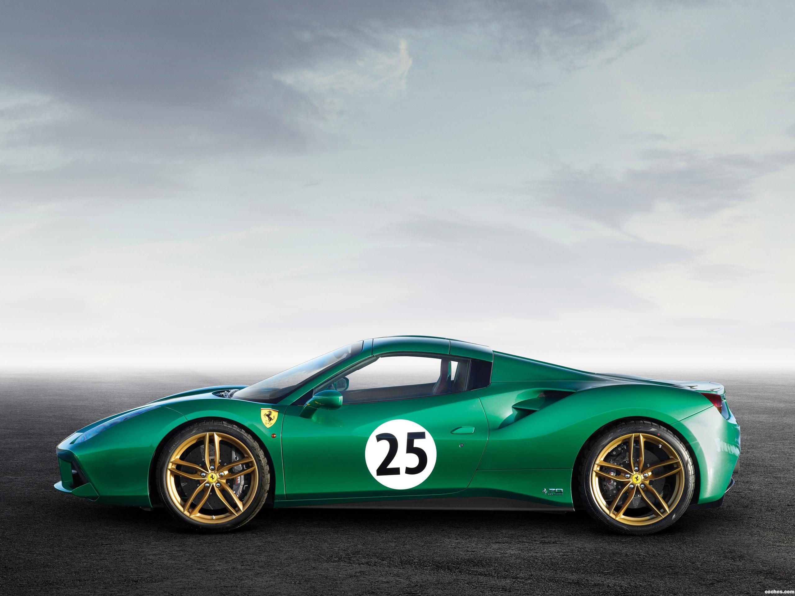 Foto 1 de Ferrari 488 Spider The Green Jewel 2017