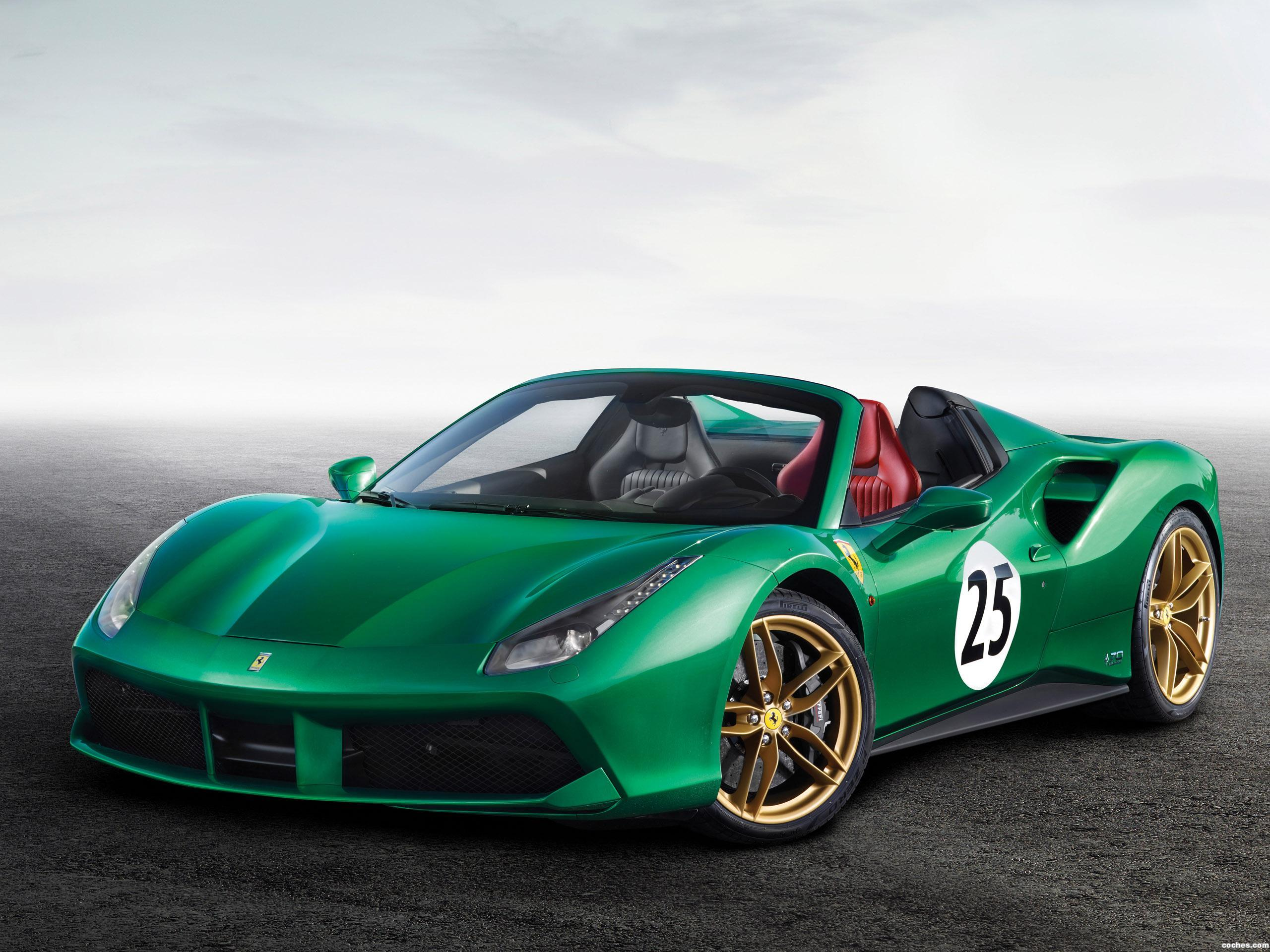 Foto 0 de Ferrari 488 Spider The Green Jewel 2017