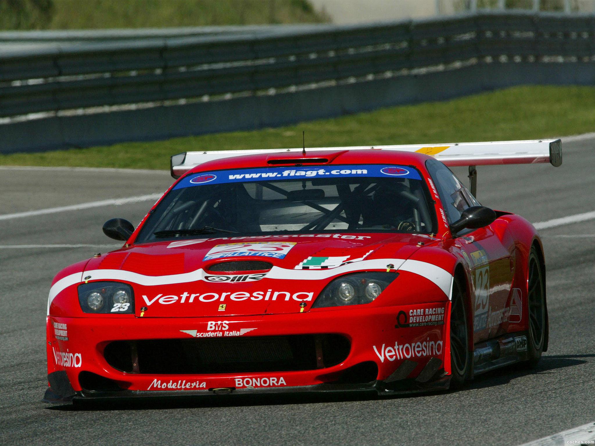 Foto 0 de Ferrari 550 GTS Maranello 2001