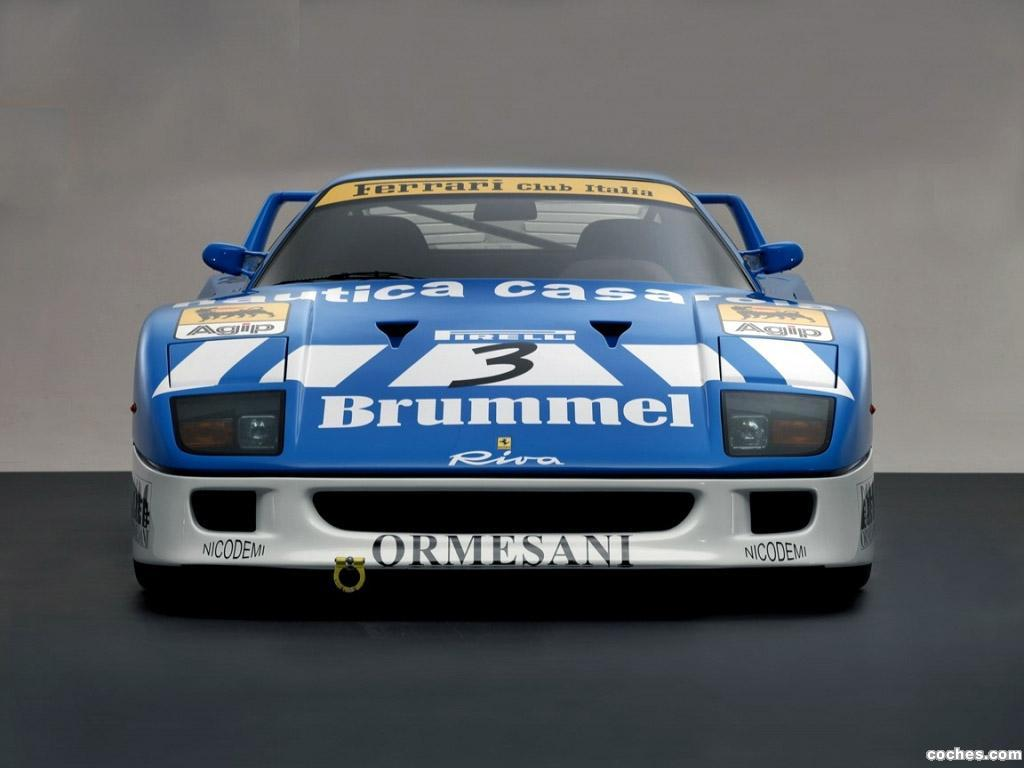 Foto 0 de Ferrari F40 GT Michelotto Racing Car 1991