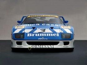 Fotos de Ferrari F40 GT Michelotto Racing Car 1991