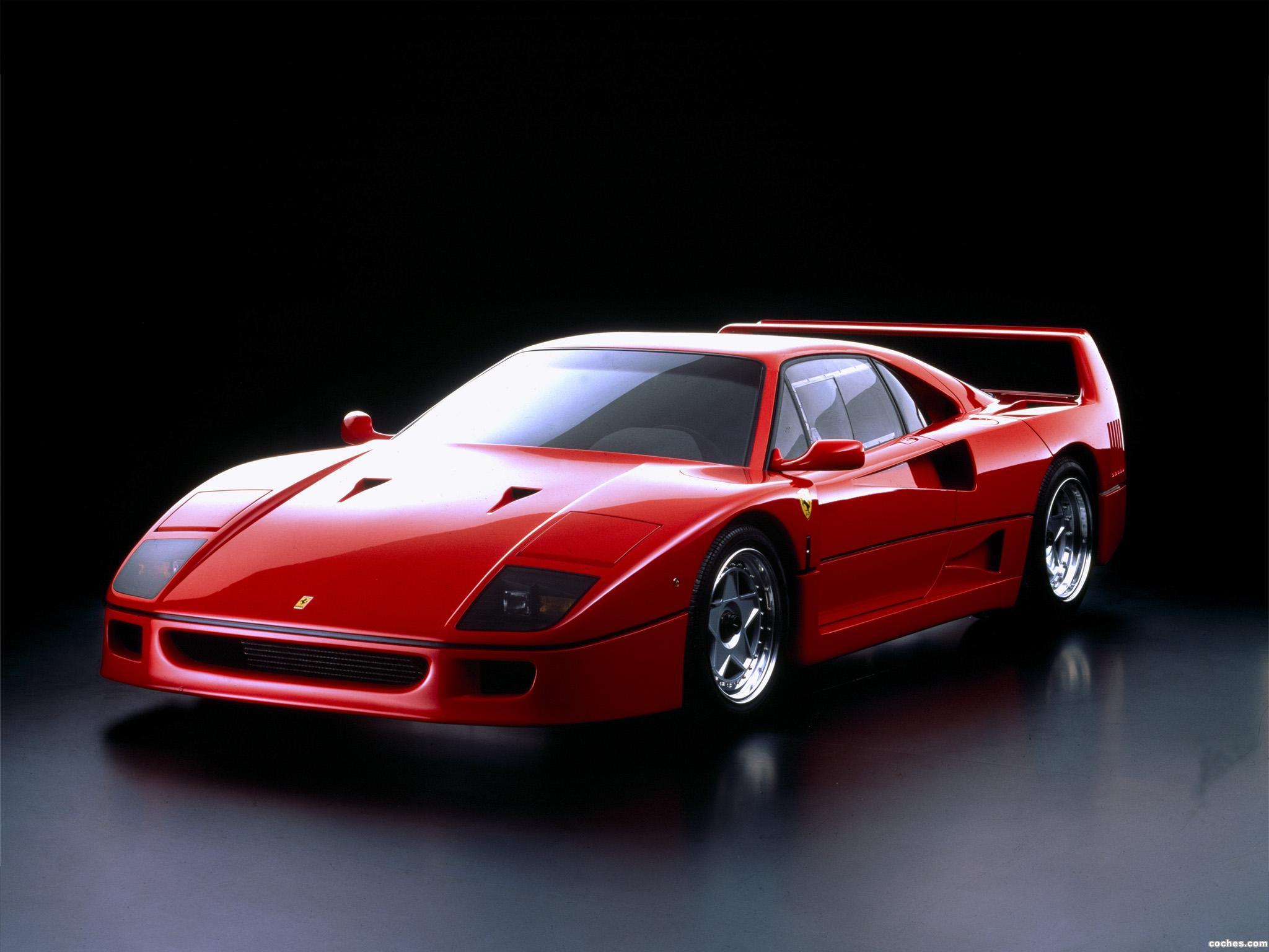 Foto 0 de Ferrari F40 Prototype 1987
