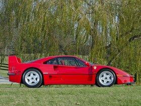 Ver foto 18 de Ferrari F40 USA 1987