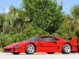 Ver foto 23 de Ferrari F40 USA 1987
