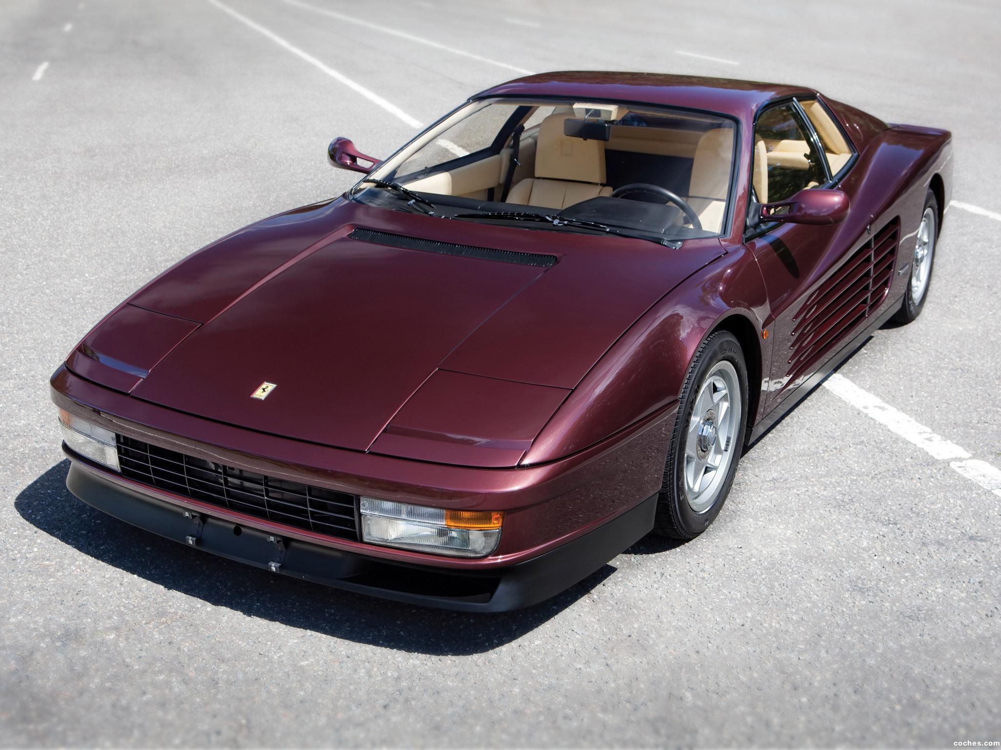Foto 0 de Ferrari Testarossa 1986