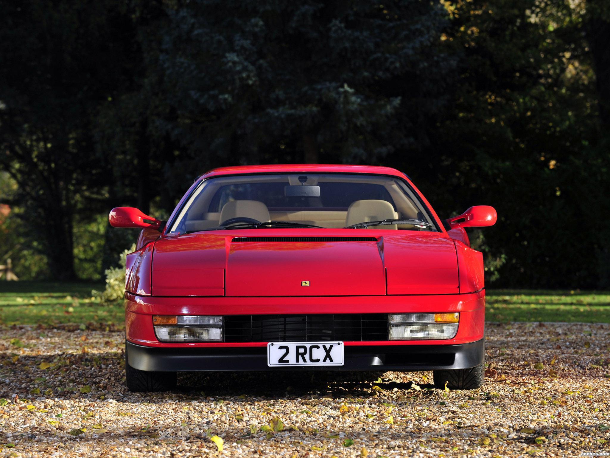 Foto 0 de Ferrari Testarossa UK 1986
