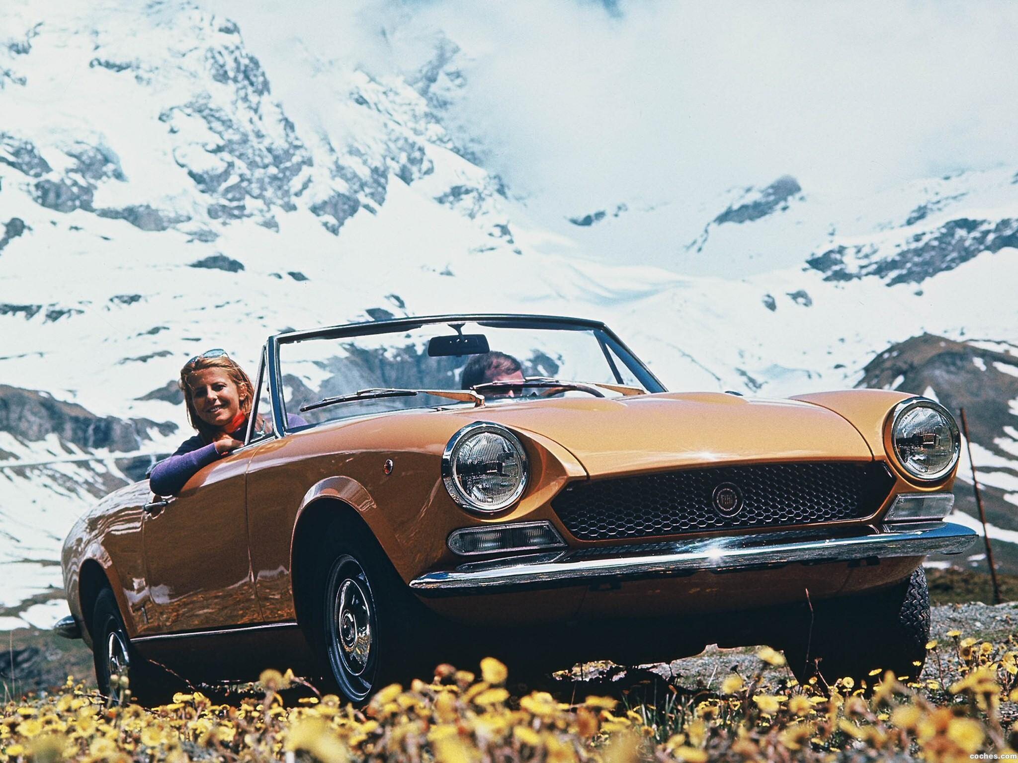 Foto 0 de Fiat 124 Spider 1969