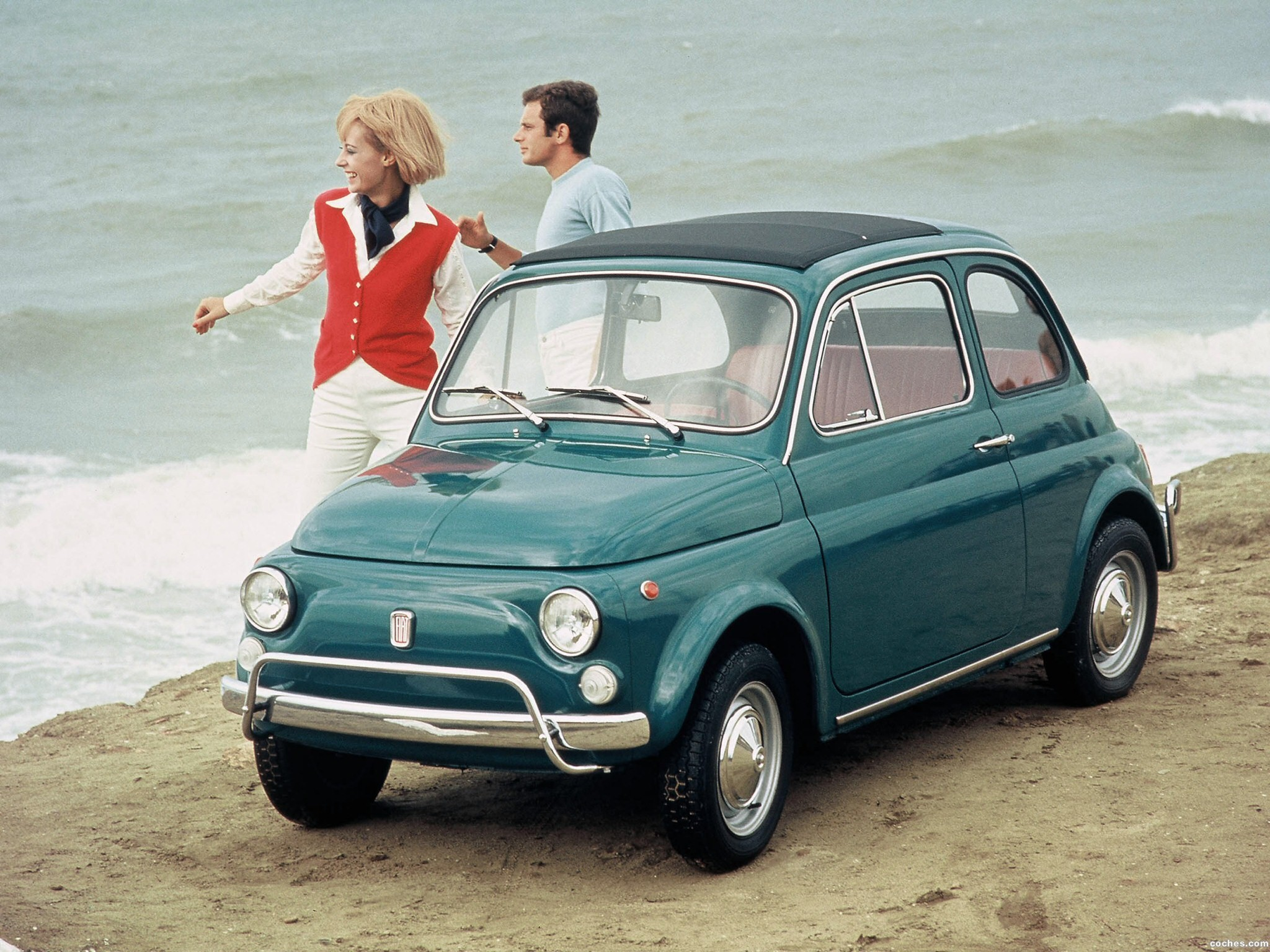 fotos de fiat 500 1957. Black Bedroom Furniture Sets. Home Design Ideas