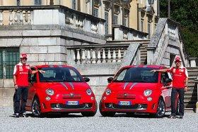 Ver foto 7 de Abarth 695 Tributo Ferrari Rojo Corsa 2009