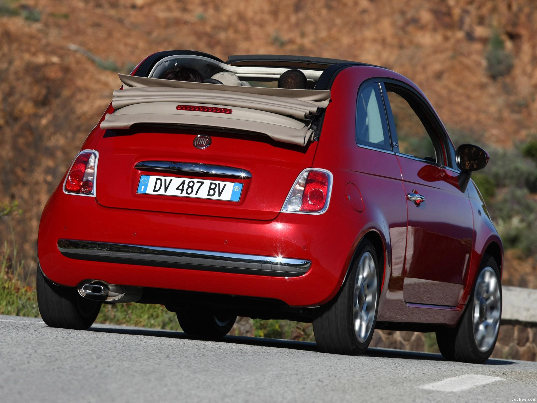 Foto 33 de Fiat 500C 2009