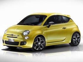 Fotos de Fiat 500 Coupe Zagato Concept 2011