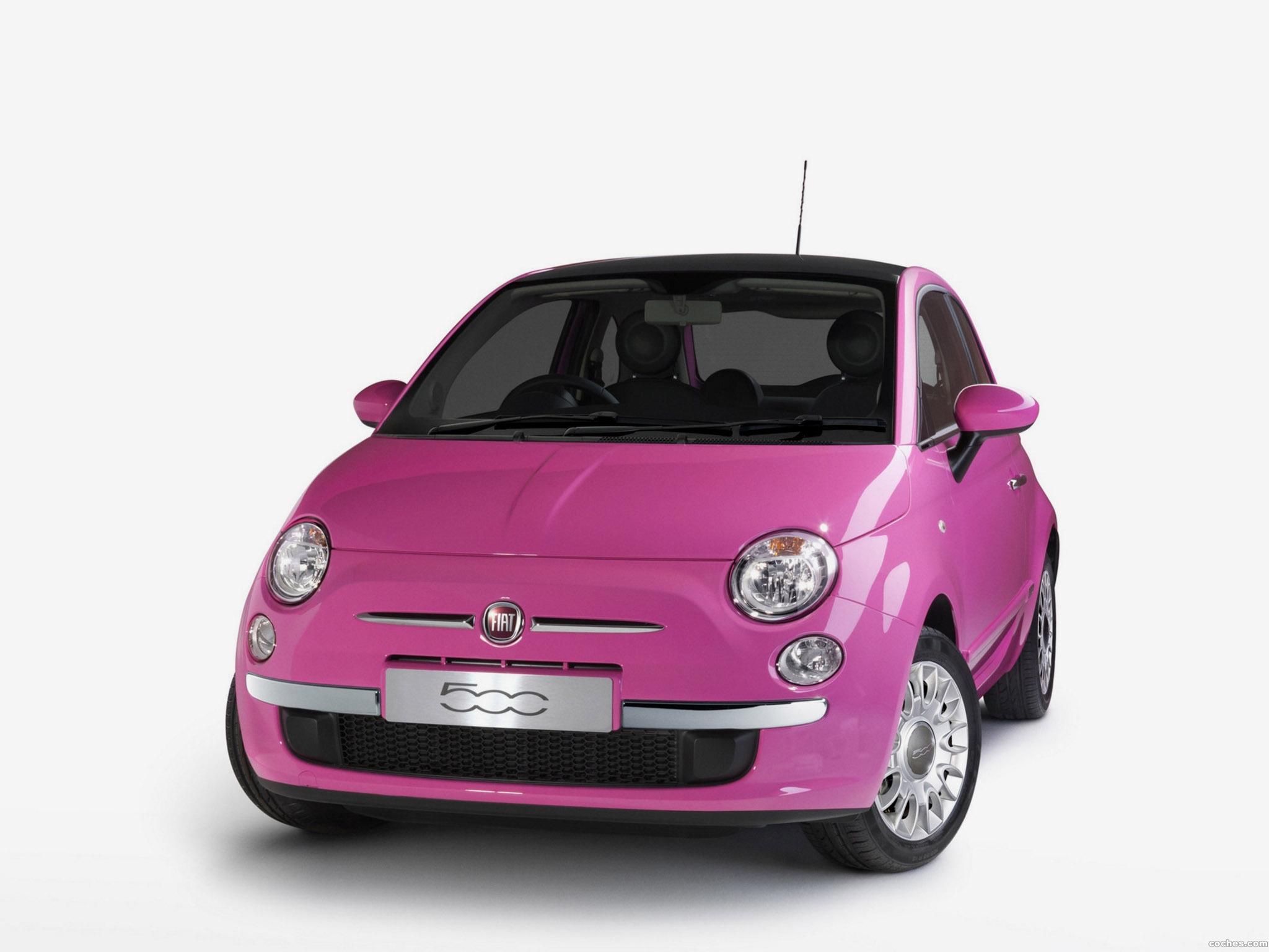 Foto 0 de Fiat 500 Pink Limited Edition 2010