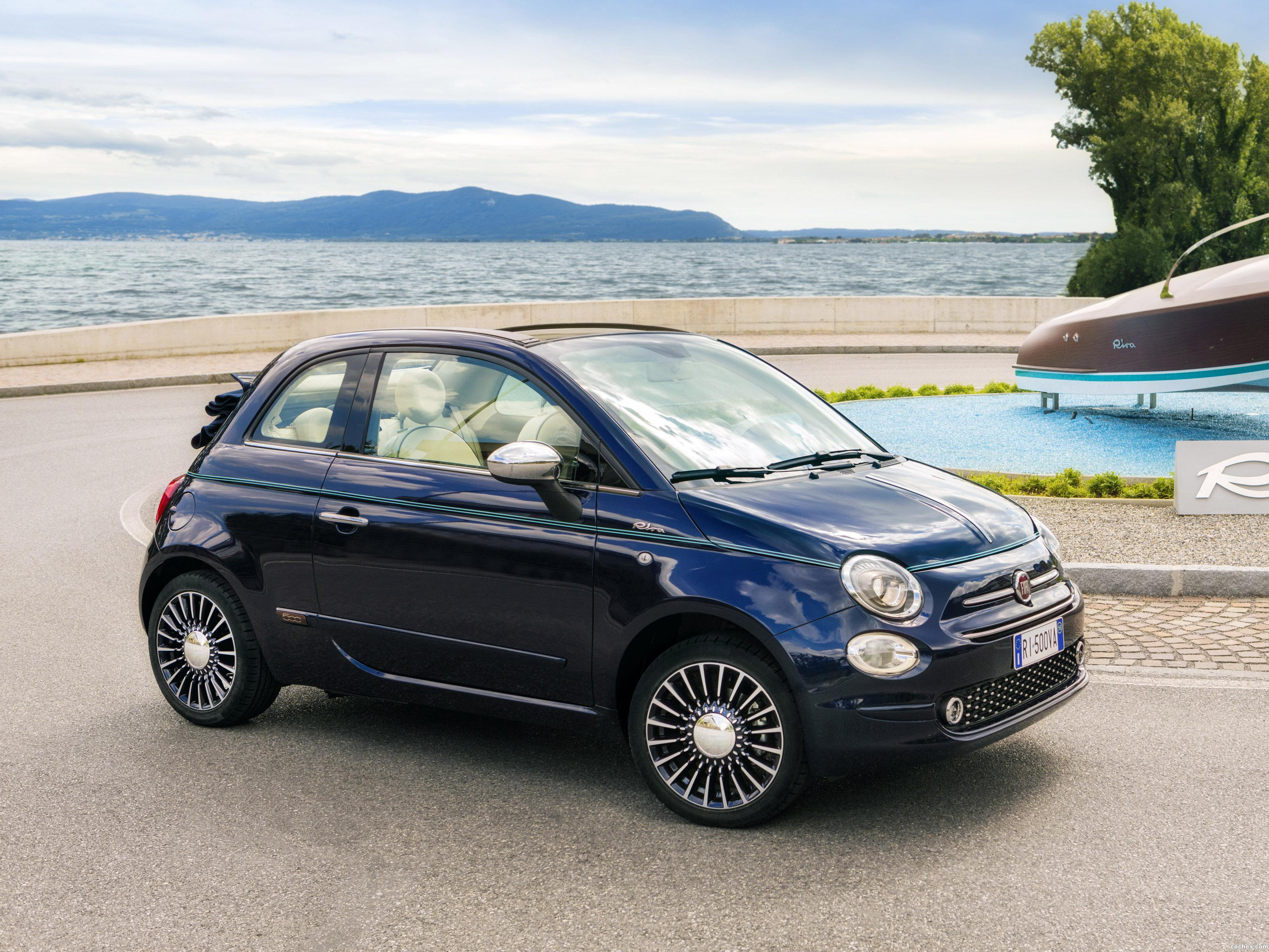 fotos de fiat 500c riva 2016. Black Bedroom Furniture Sets. Home Design Ideas