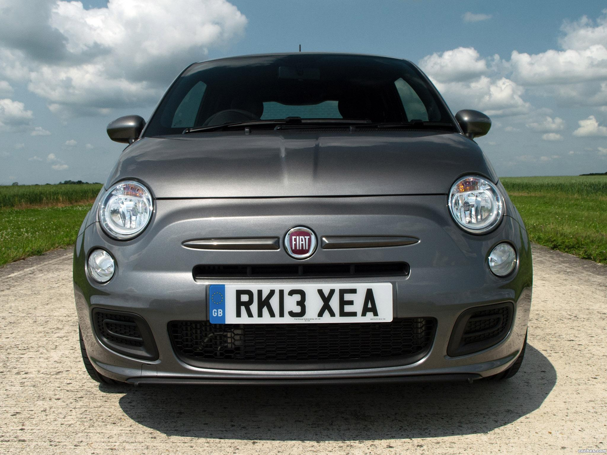 Foto 0 de Fiat 500S UK 2013