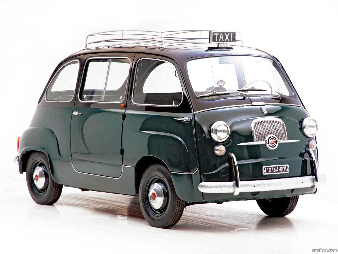 Foto 0 de Fiat 600 Multipla Taxi 1956