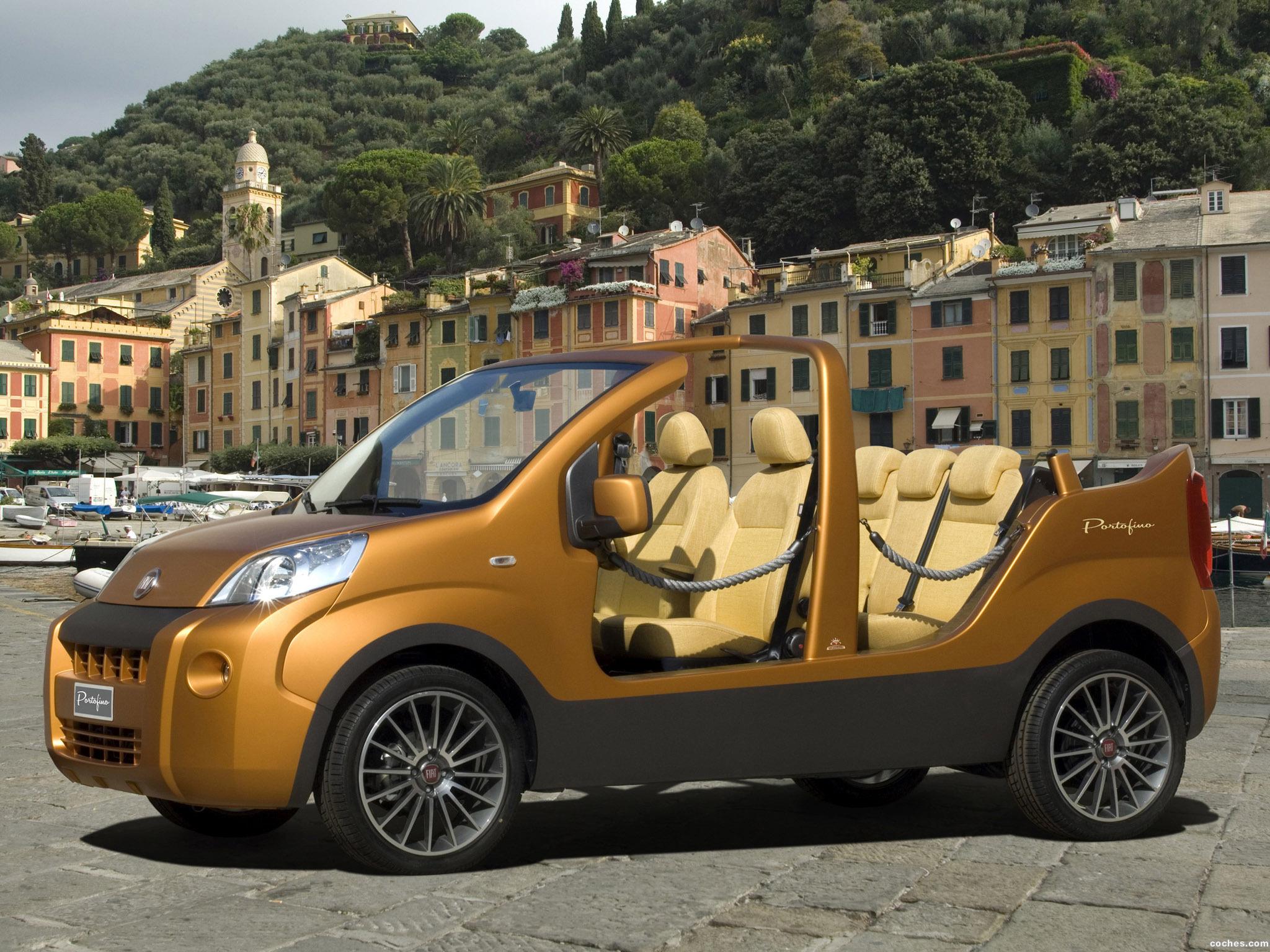 Foto 0 de Fiat Fiorino Portofino Concept 2008