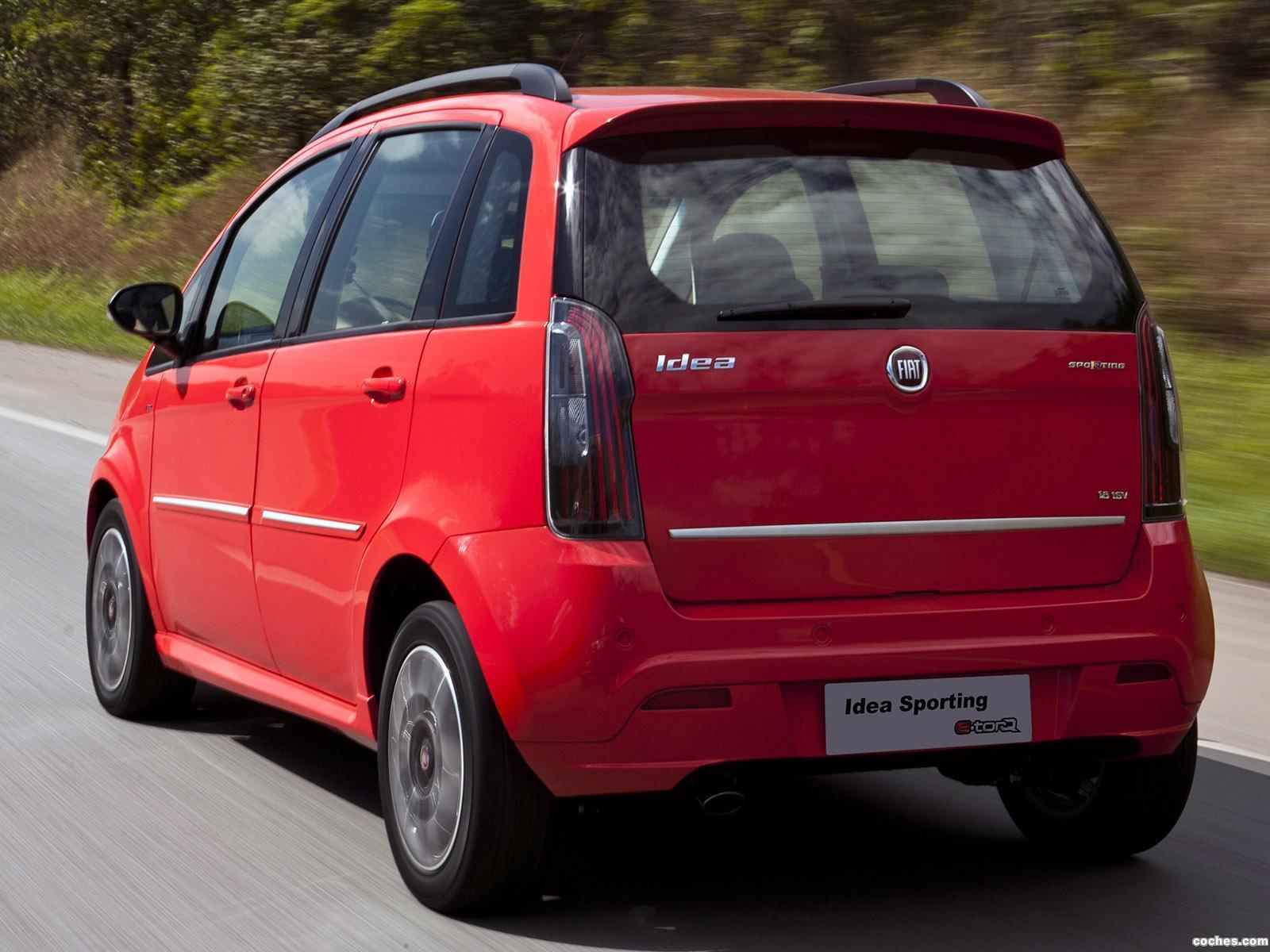 Foto 3 de Fiat Idea Sporting 2010
