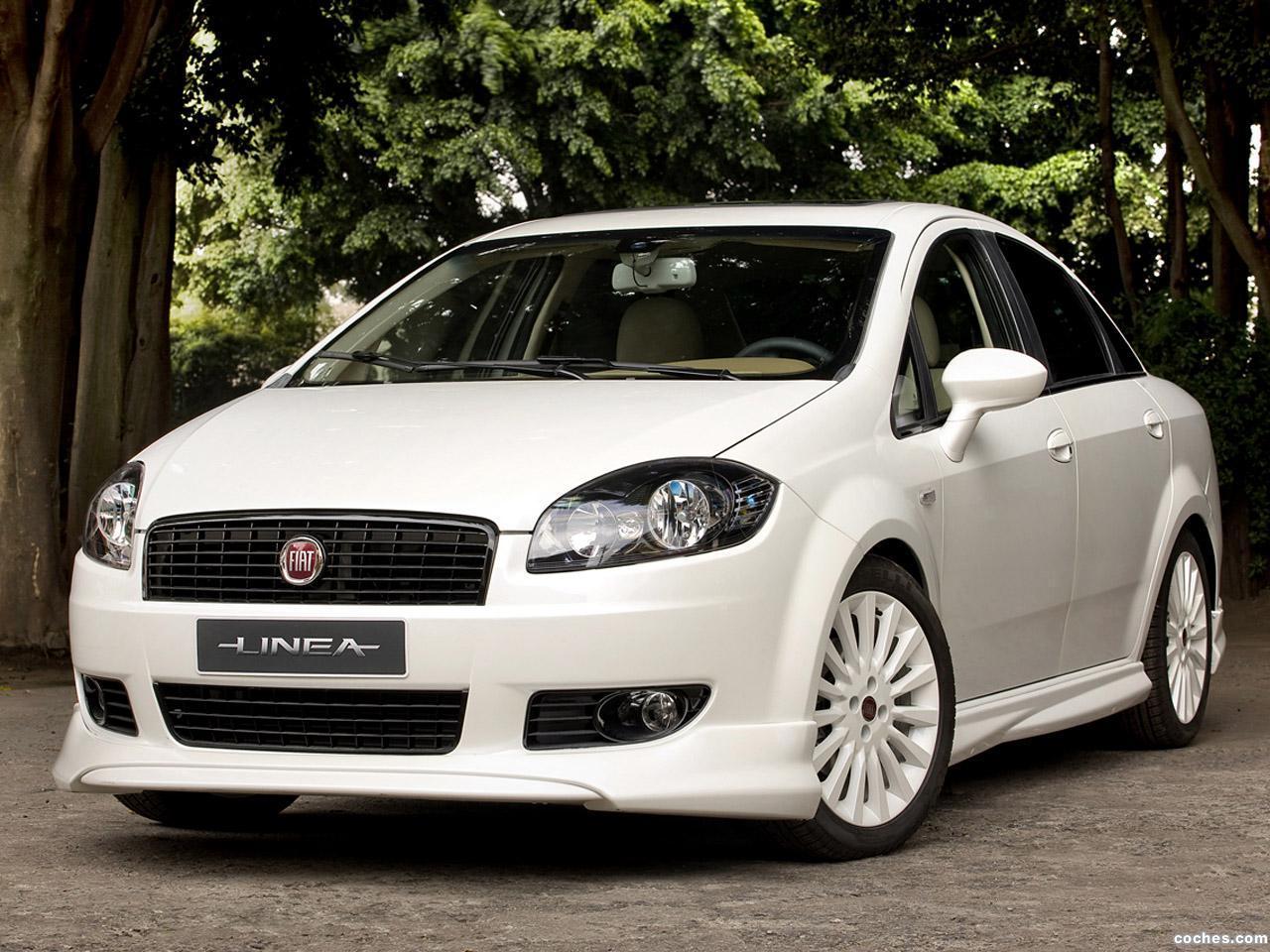 Foto 0 de Fiat Linea Monte Bianco Concept 2008