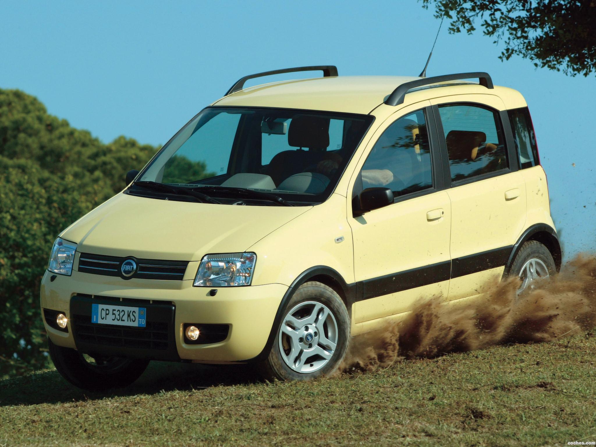 Foto 0 de Fiat Panda 4x4 2004
