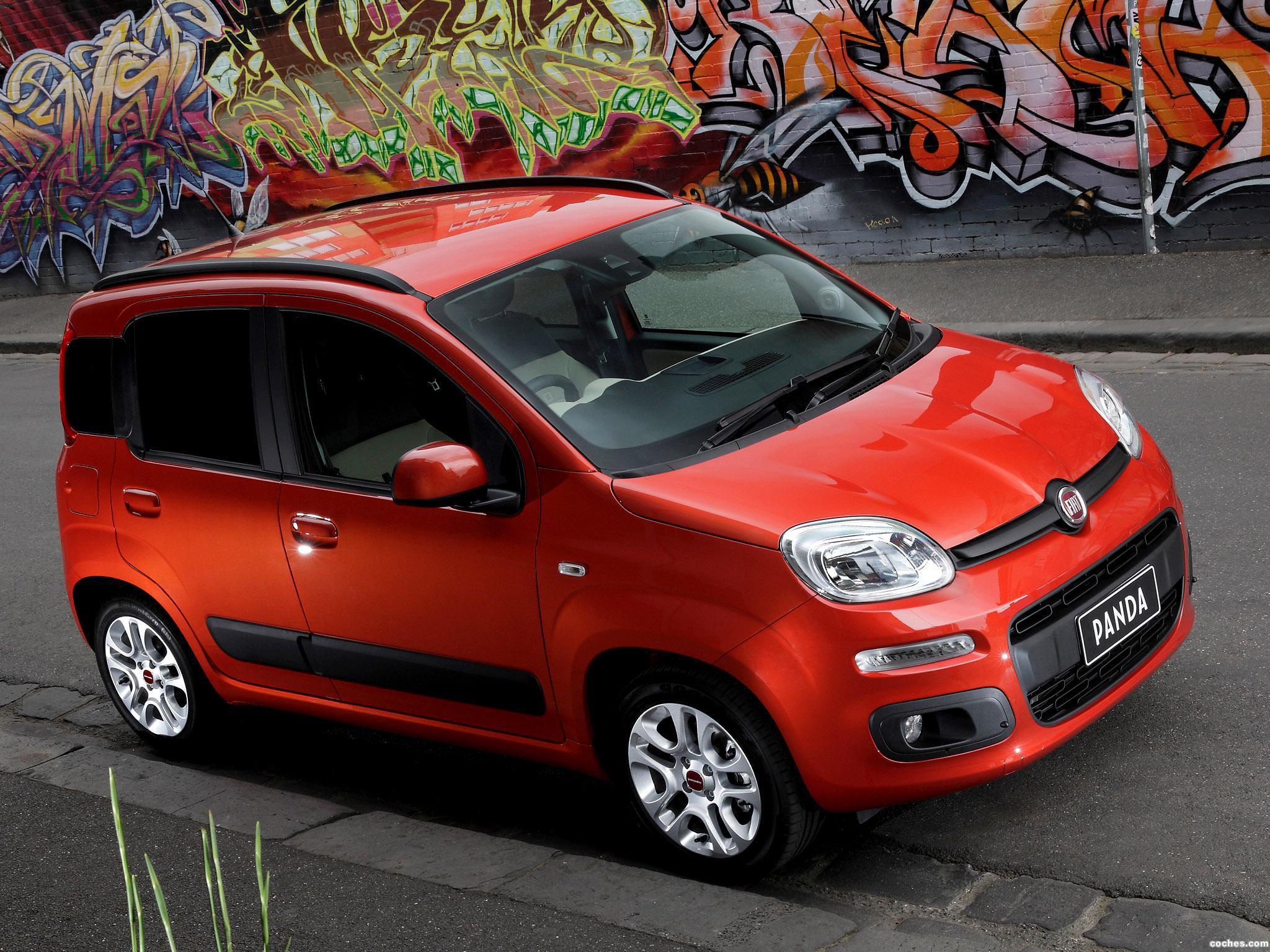 Foto 0 de Fiat Panda Australia 2013