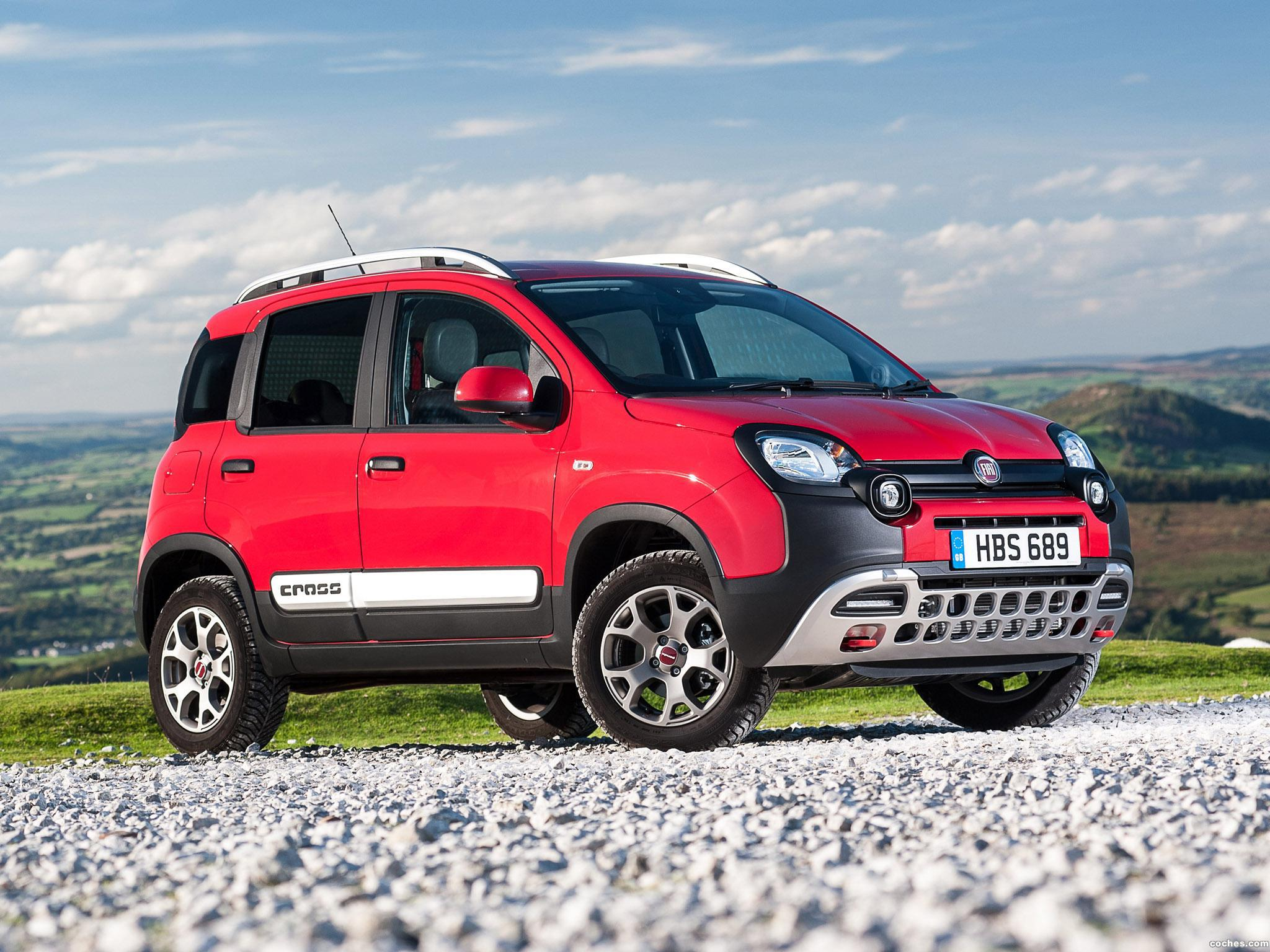 Foto 25 de Fiat Panda Cross UK 2014