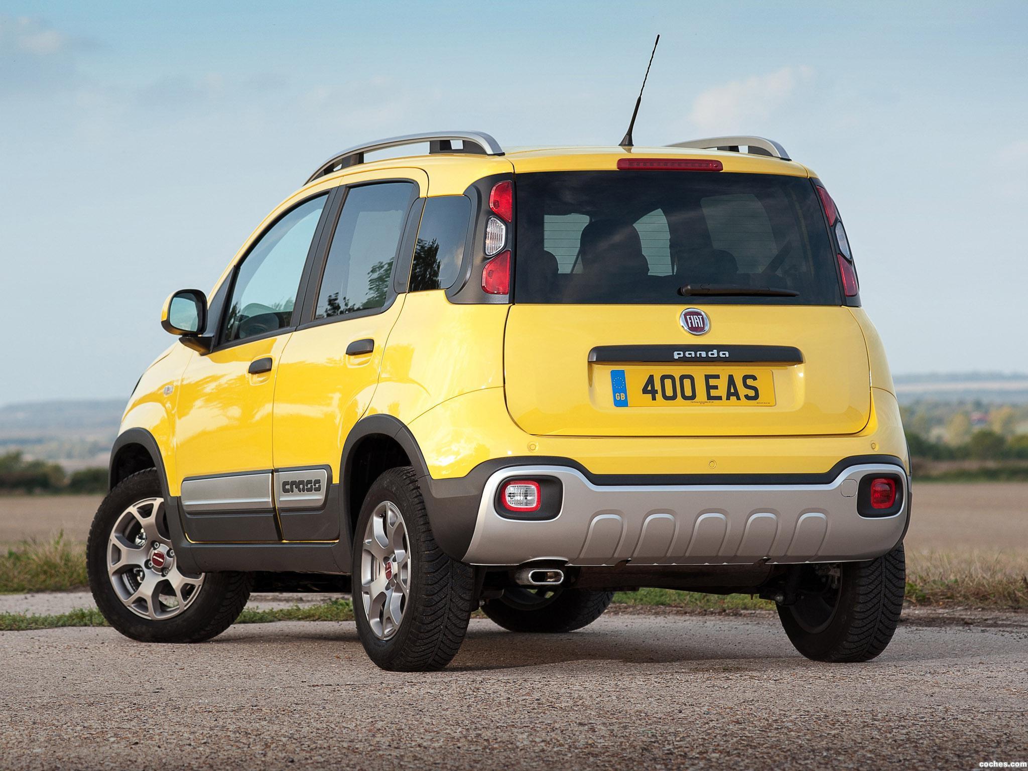 Foto 22 de Fiat Panda Cross UK 2014