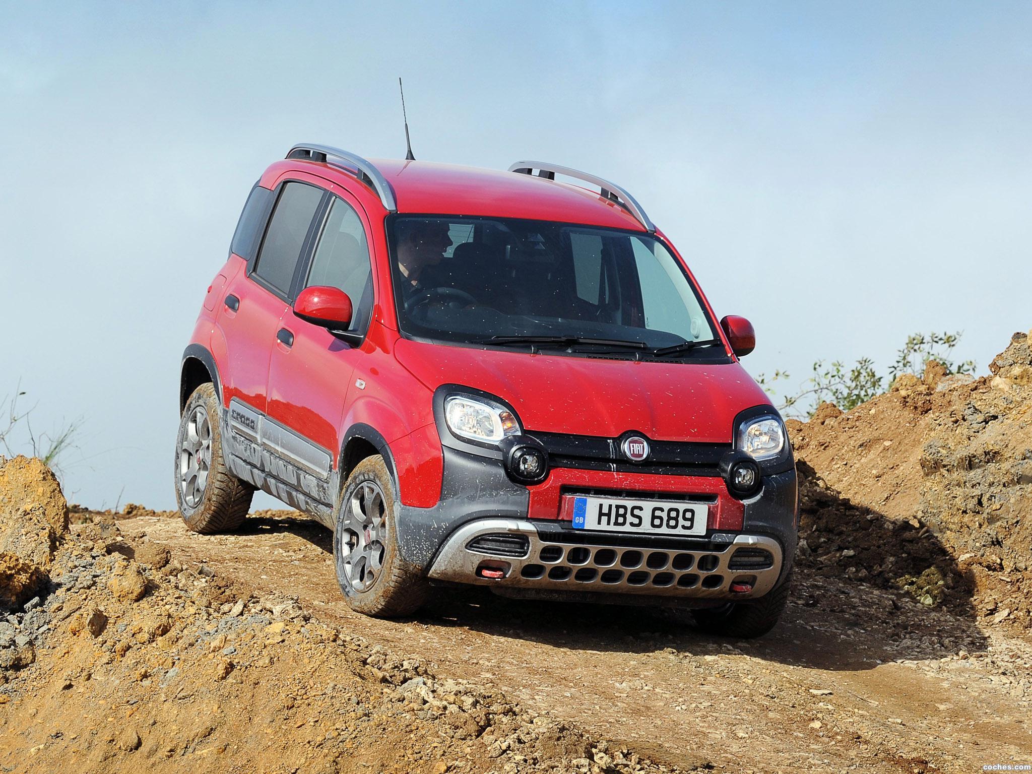 Foto 17 de Fiat Panda Cross UK 2014
