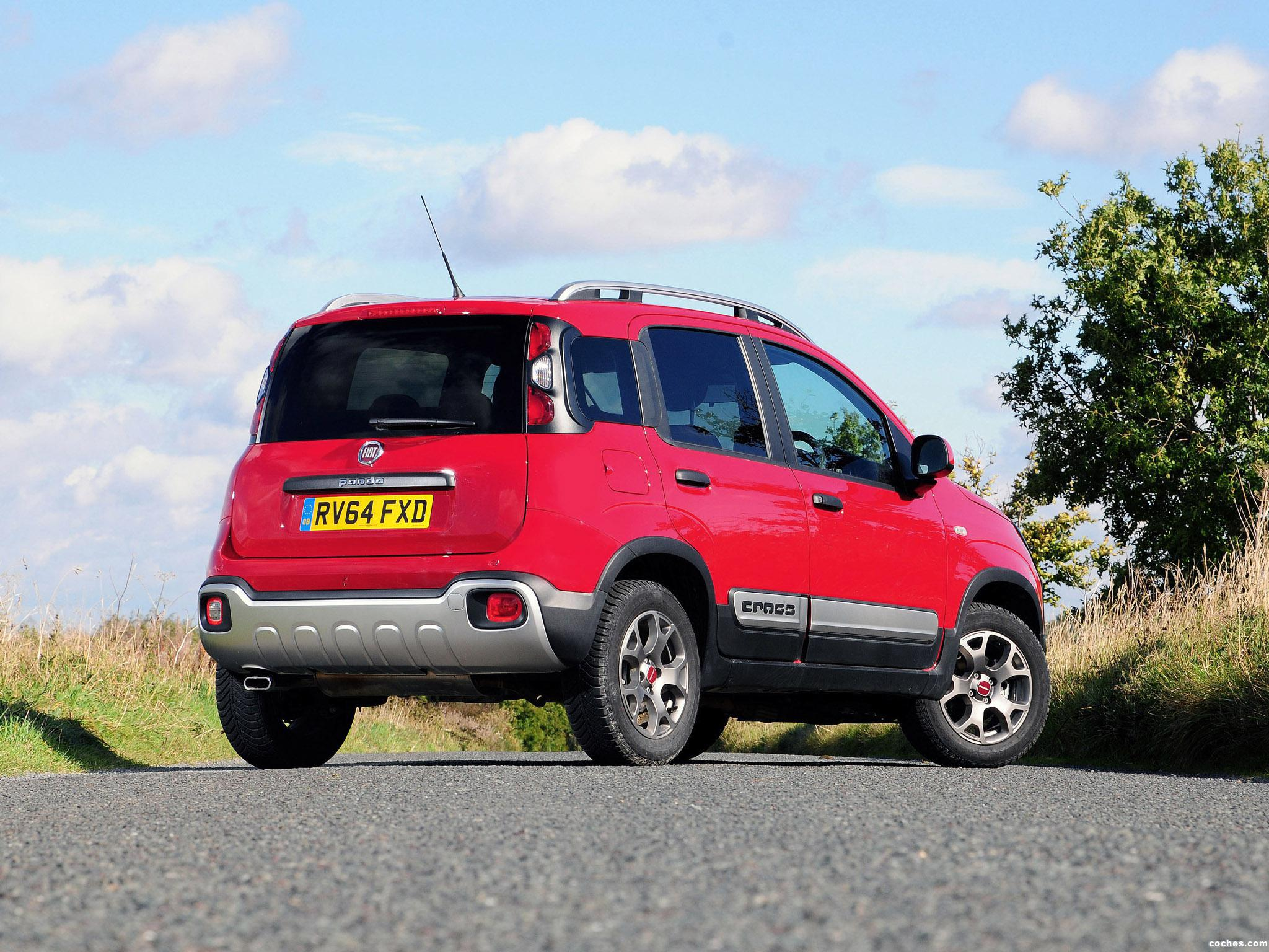 Foto 2 de Fiat Panda Cross UK 2014