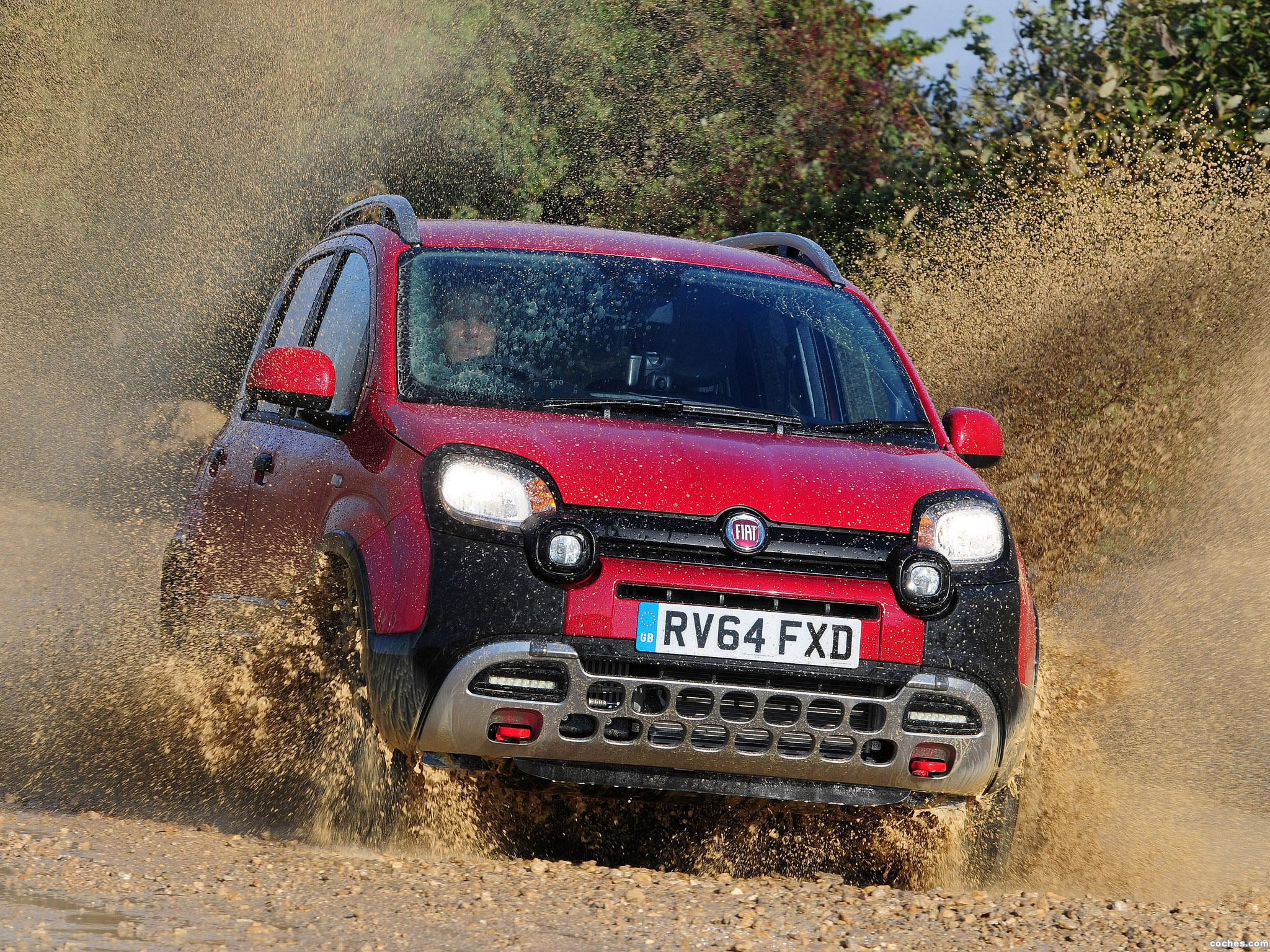 Foto 0 de Fiat Panda Cross UK 2014
