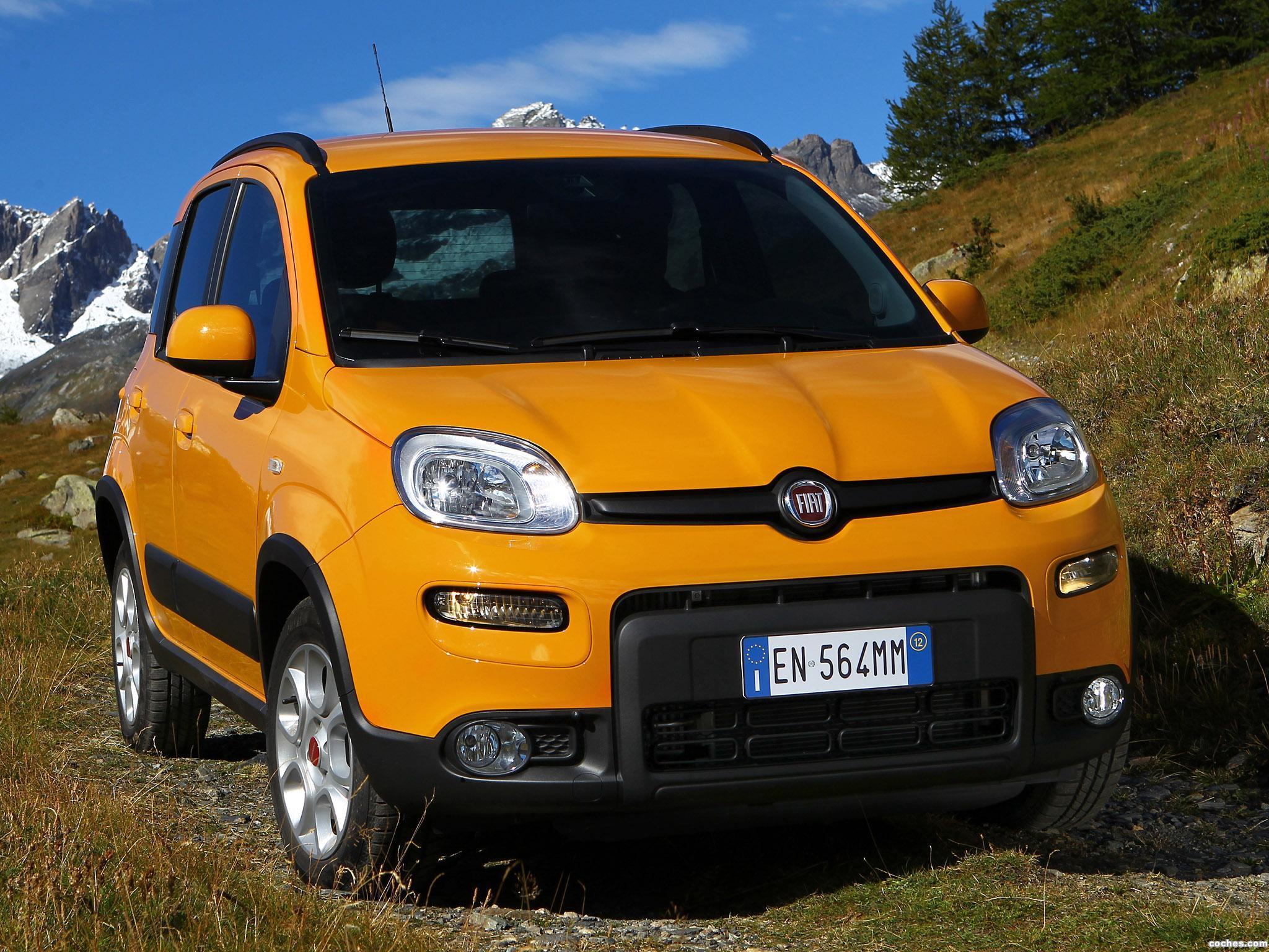 Foto 0 de Fiat Panda Trekking 2012