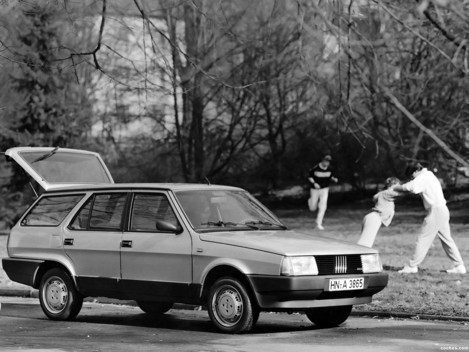 Foto 2 de Fiat Regata Weekend 1984