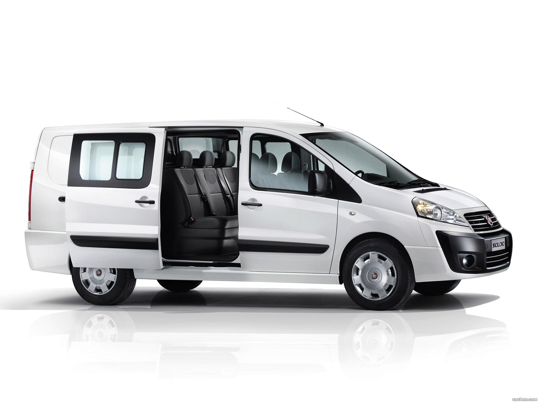 fotos de fiat scudo cargo combi 2013. Black Bedroom Furniture Sets. Home Design Ideas