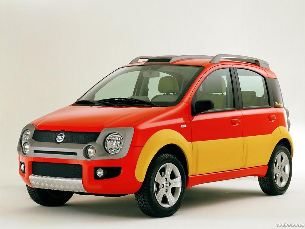 Foto 0 de Fiat Simba Concept 2002