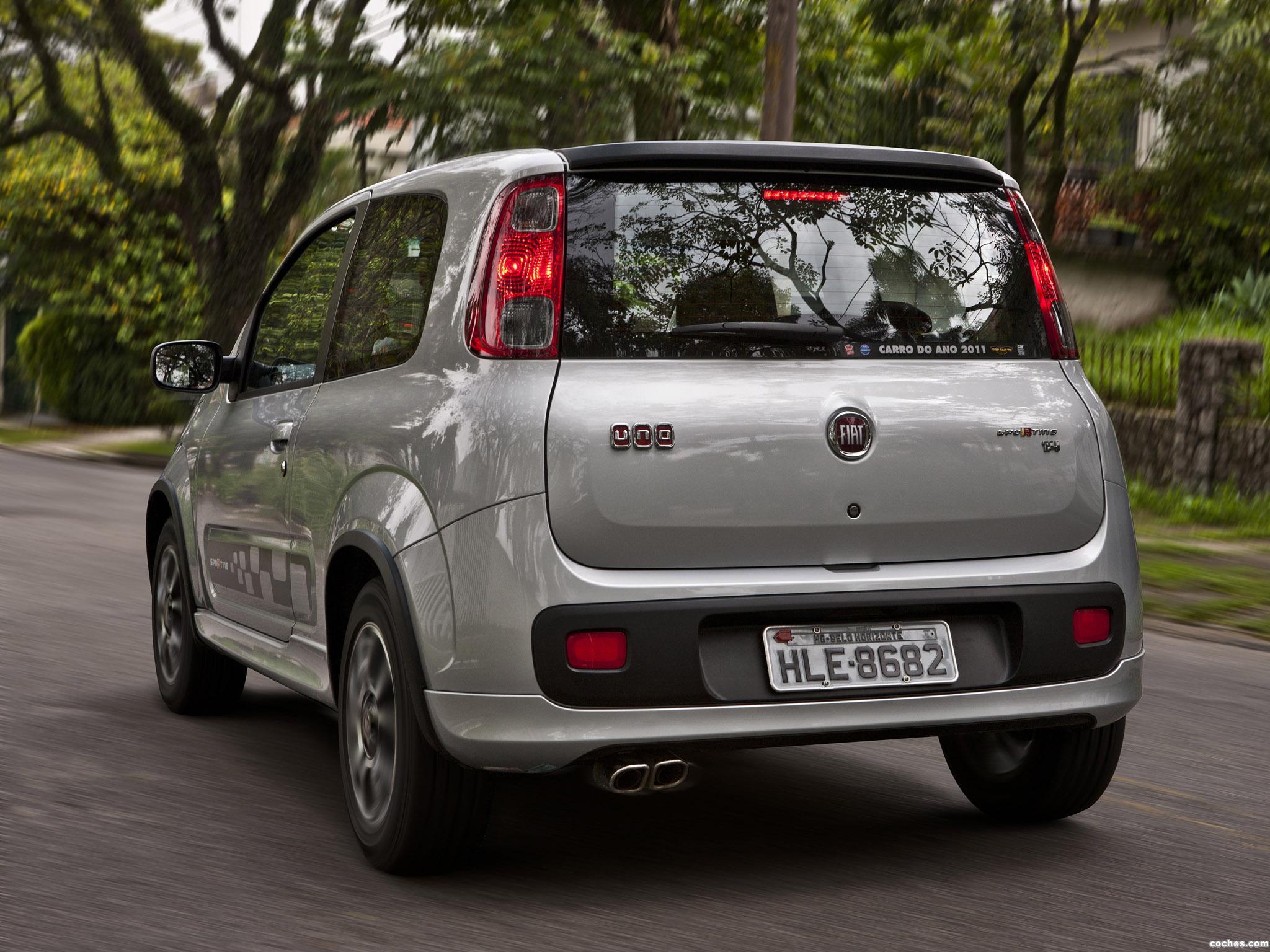 Foto 3 de Fiat Uno Sporting 3 puertas 2011