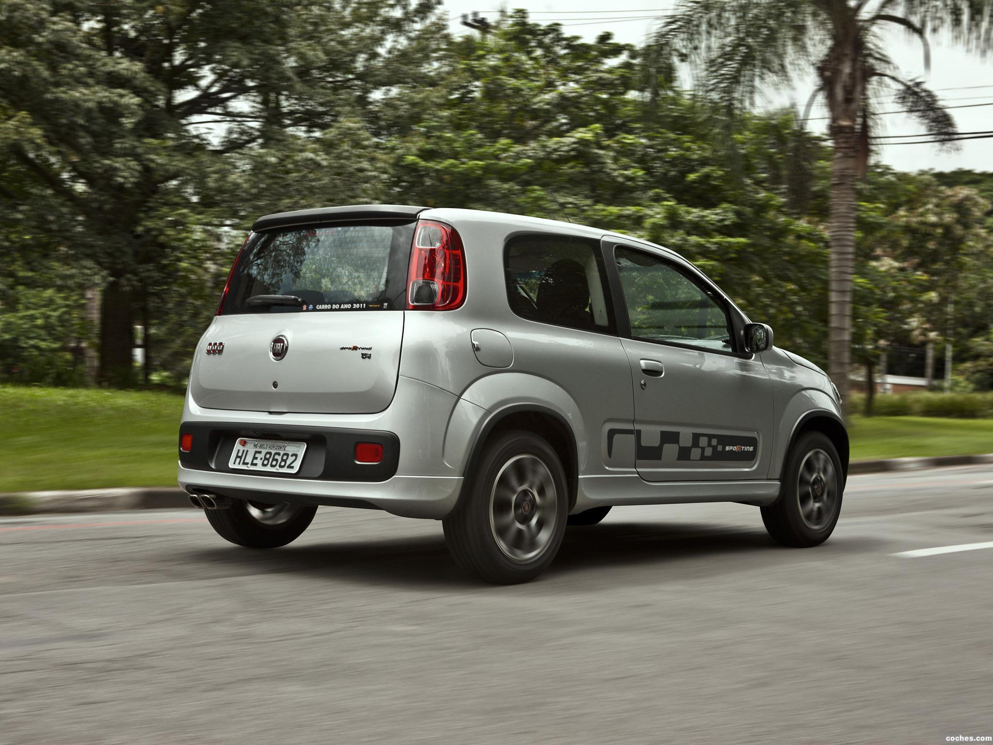 Foto 2 de Fiat Uno Sporting 3 puertas 2011