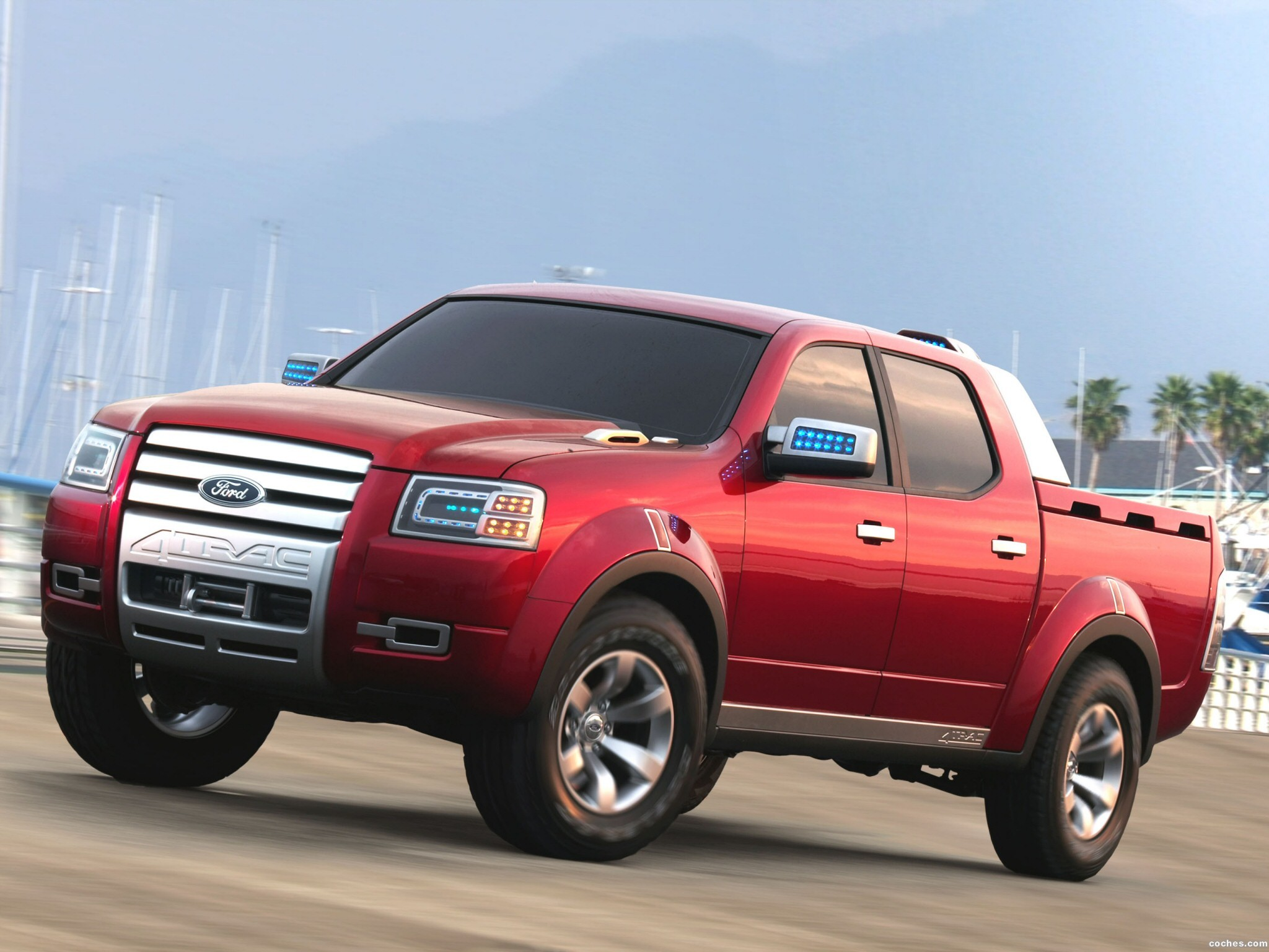 Foto 0 de Ford 4Trac Pick-Up Concept 2005
